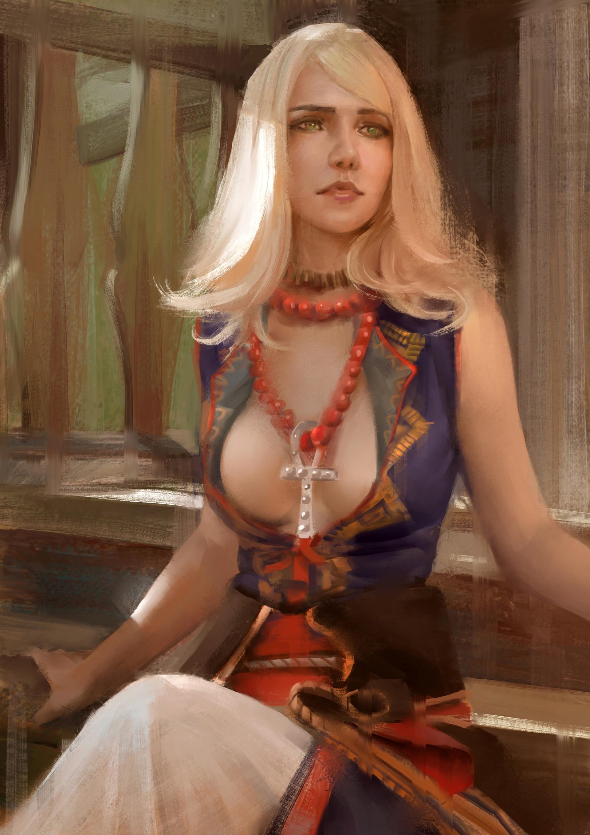 from Adam fantasy art blond girls