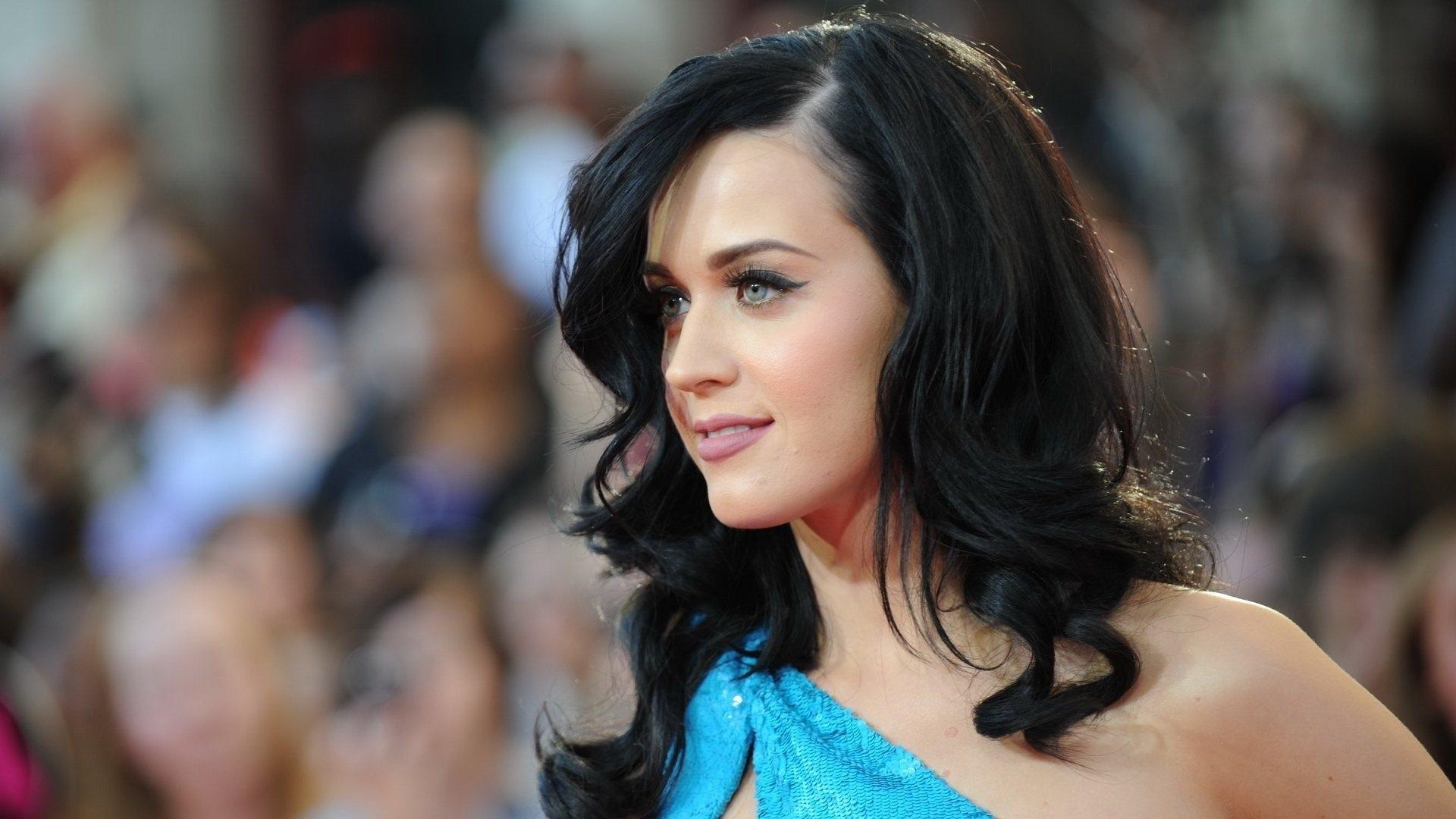 Wallpaper Long Hair Dress Black Hair Katy Perry Supermodel
