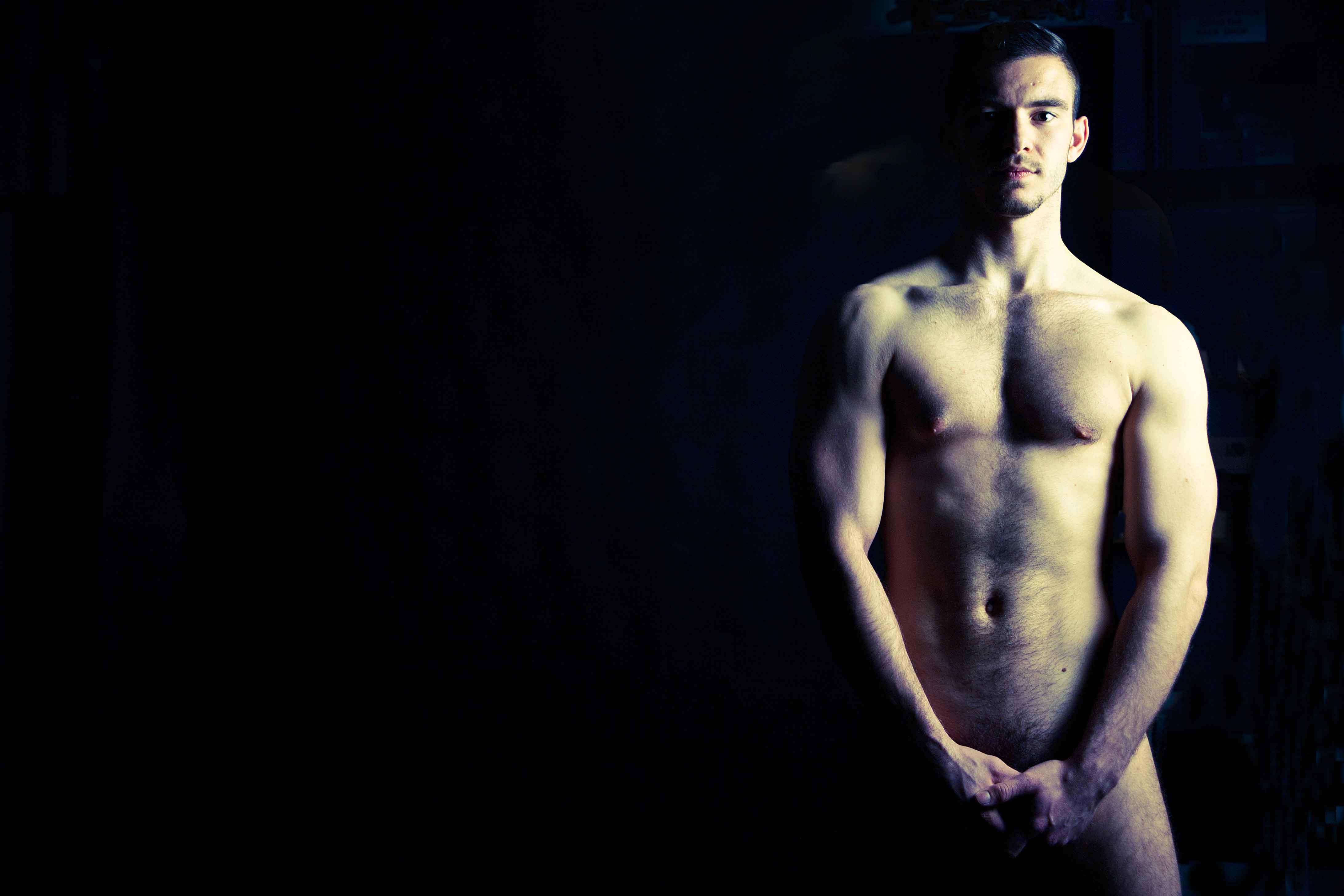 Wallpaper male nudes