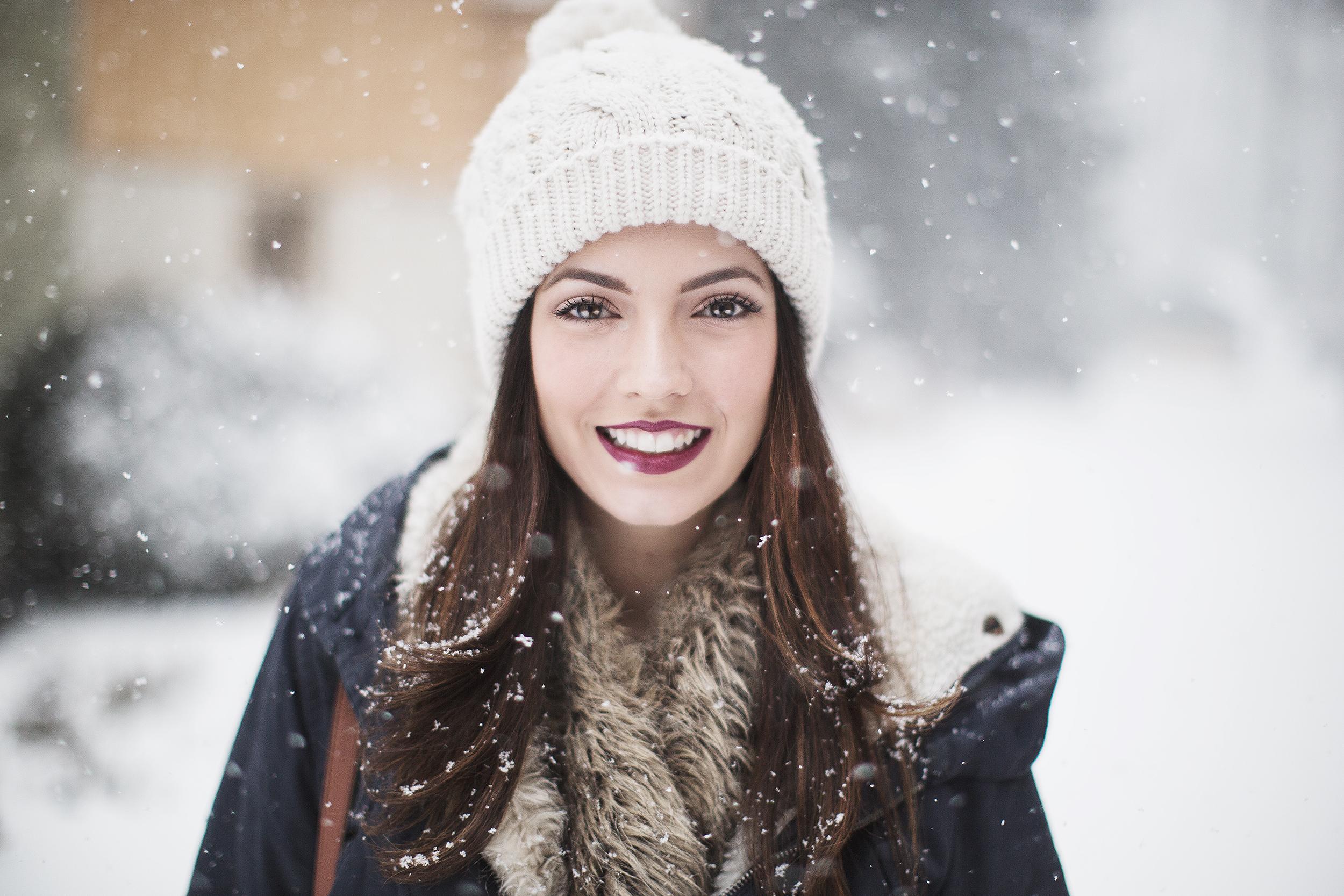 блинов как фотографировать зимой со снегом портрет того