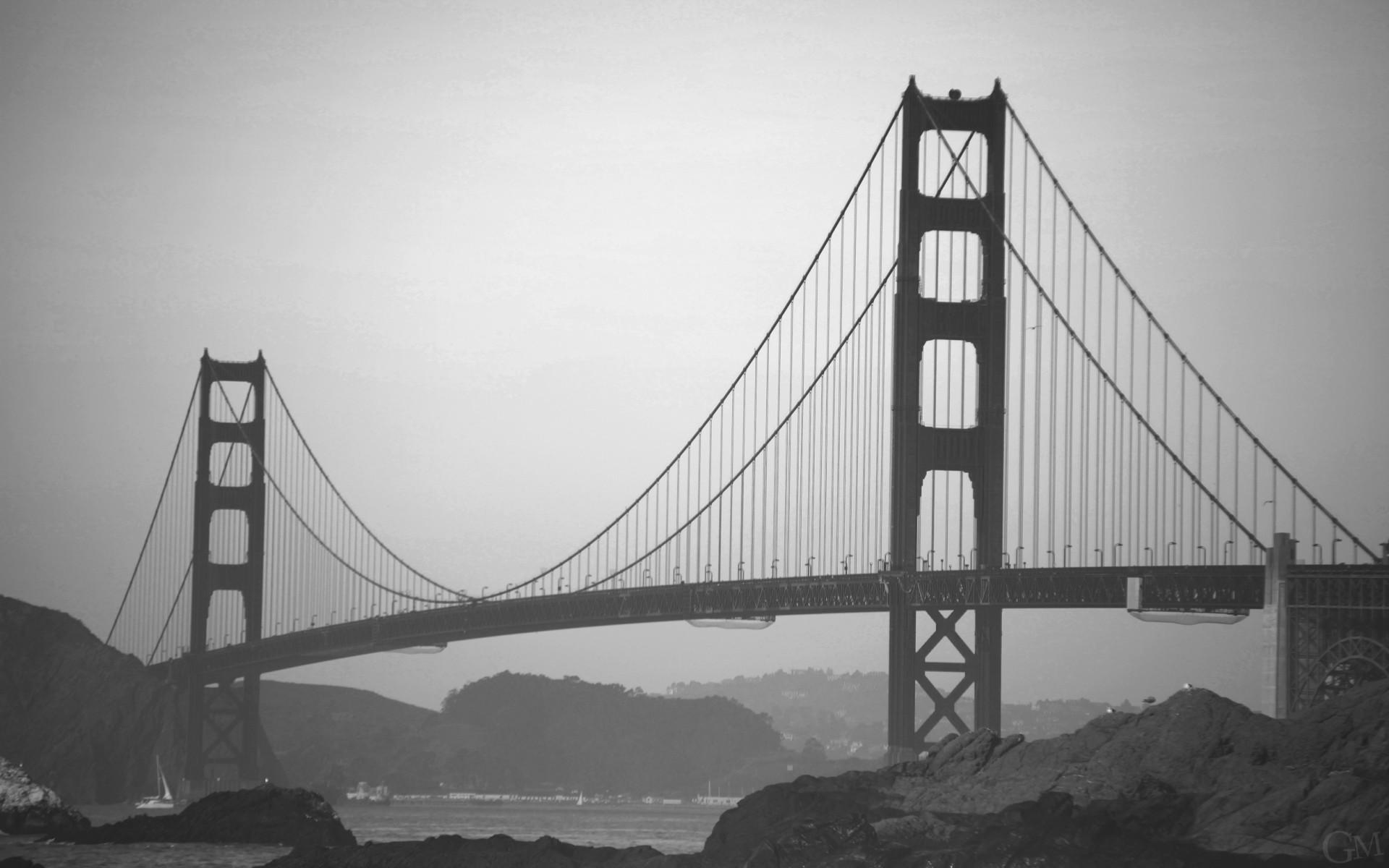 рамы картинки черно белые мост сумерки