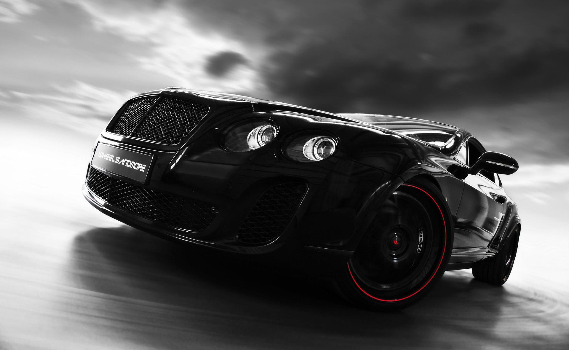 картинки с автомобилями на черном фоне них