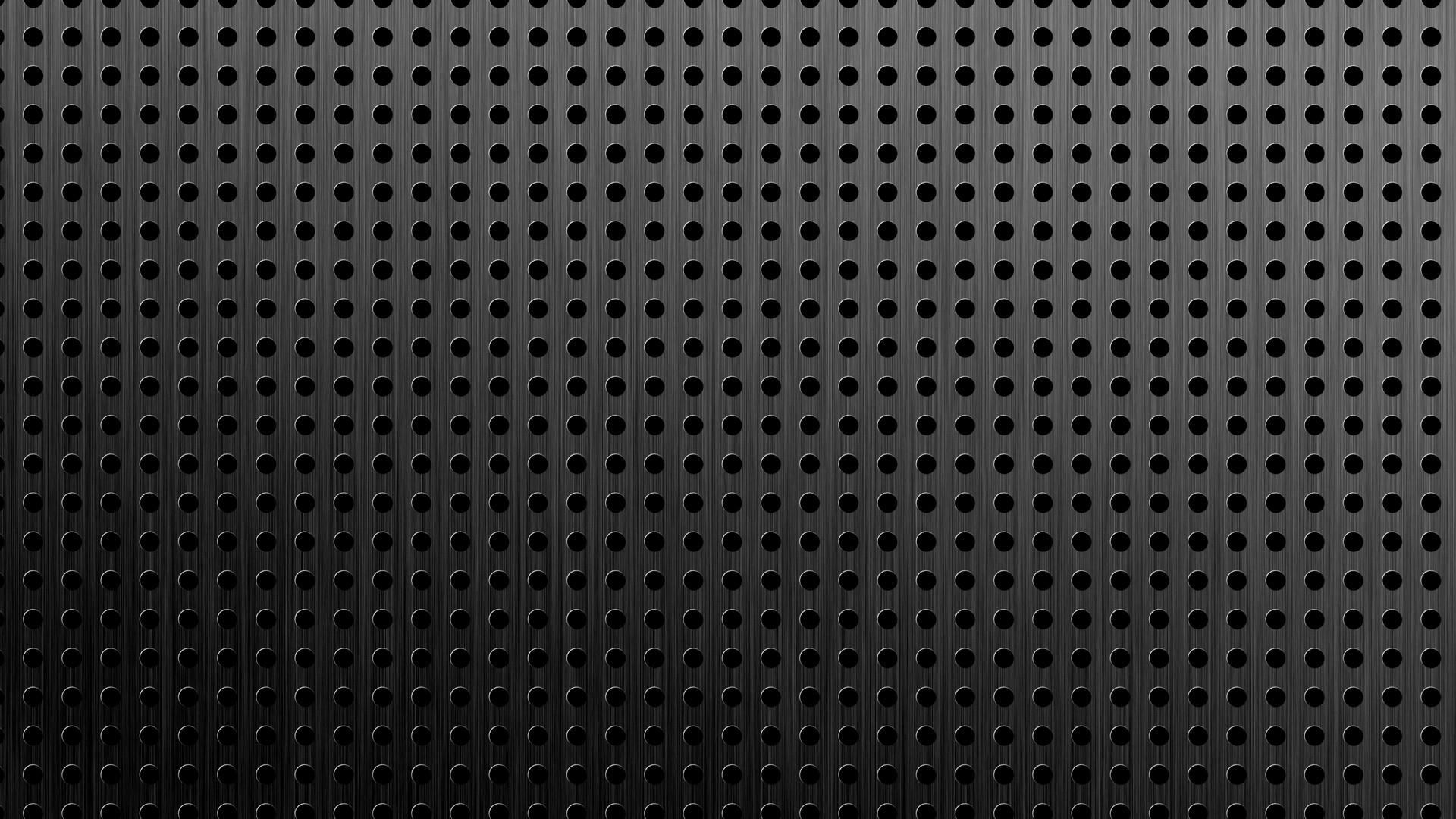 Monochrome Dark Pattern Metal Texture Circle Asphalt Background Net Material Design Floor Line Mesh Black And