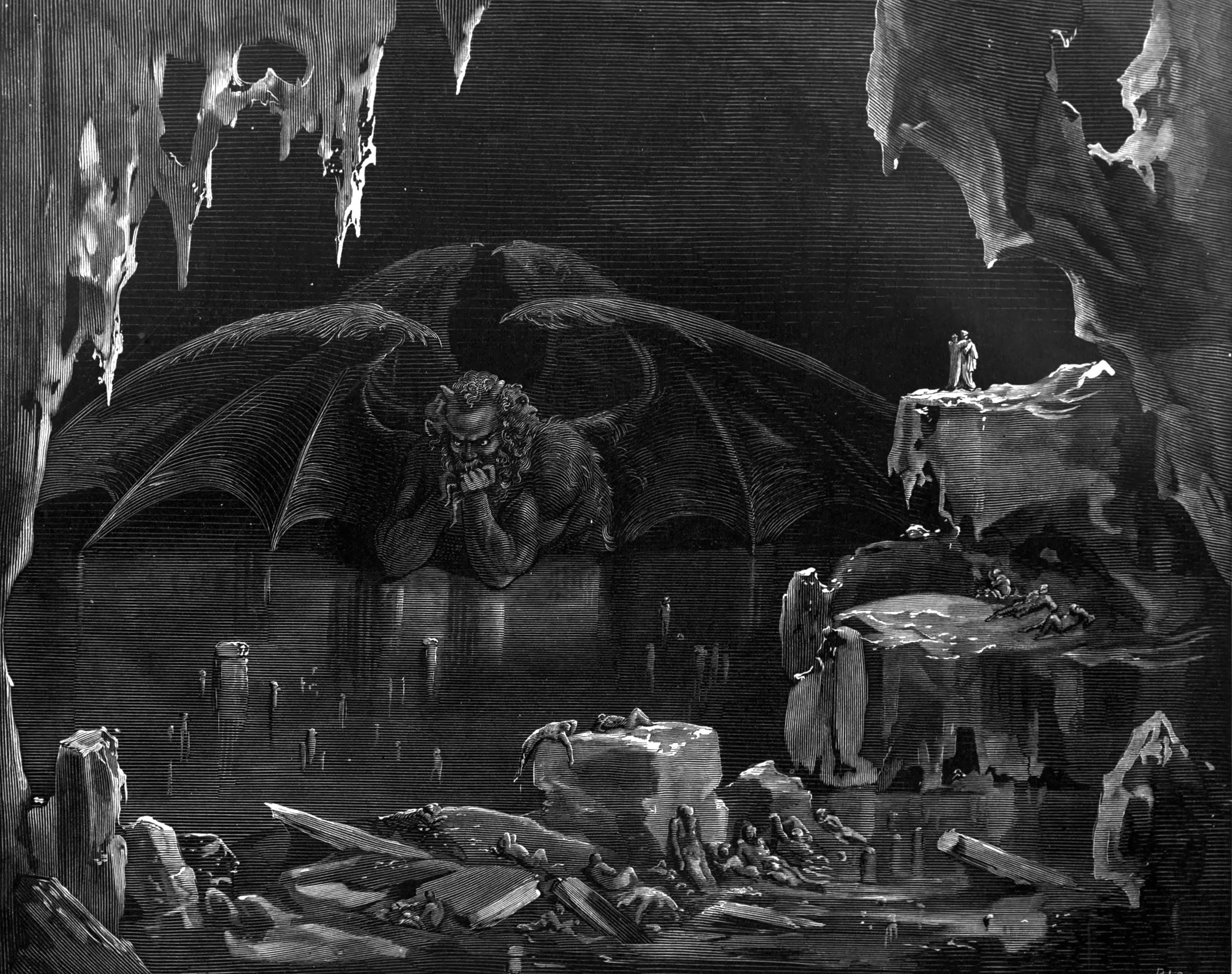 Wallpaper Mythology Gustave Dor Classic Art Dante S