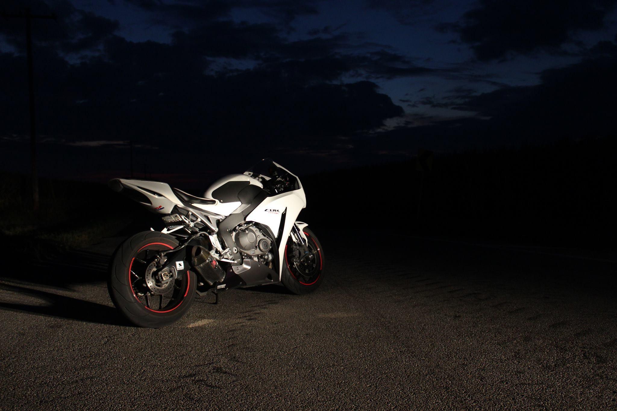 Einfarbig Nacht Auto Motorrad Fahrzeug Honda Cbr 1000 Rr Dunkelheit Bildschirmfoto Computer Tapete