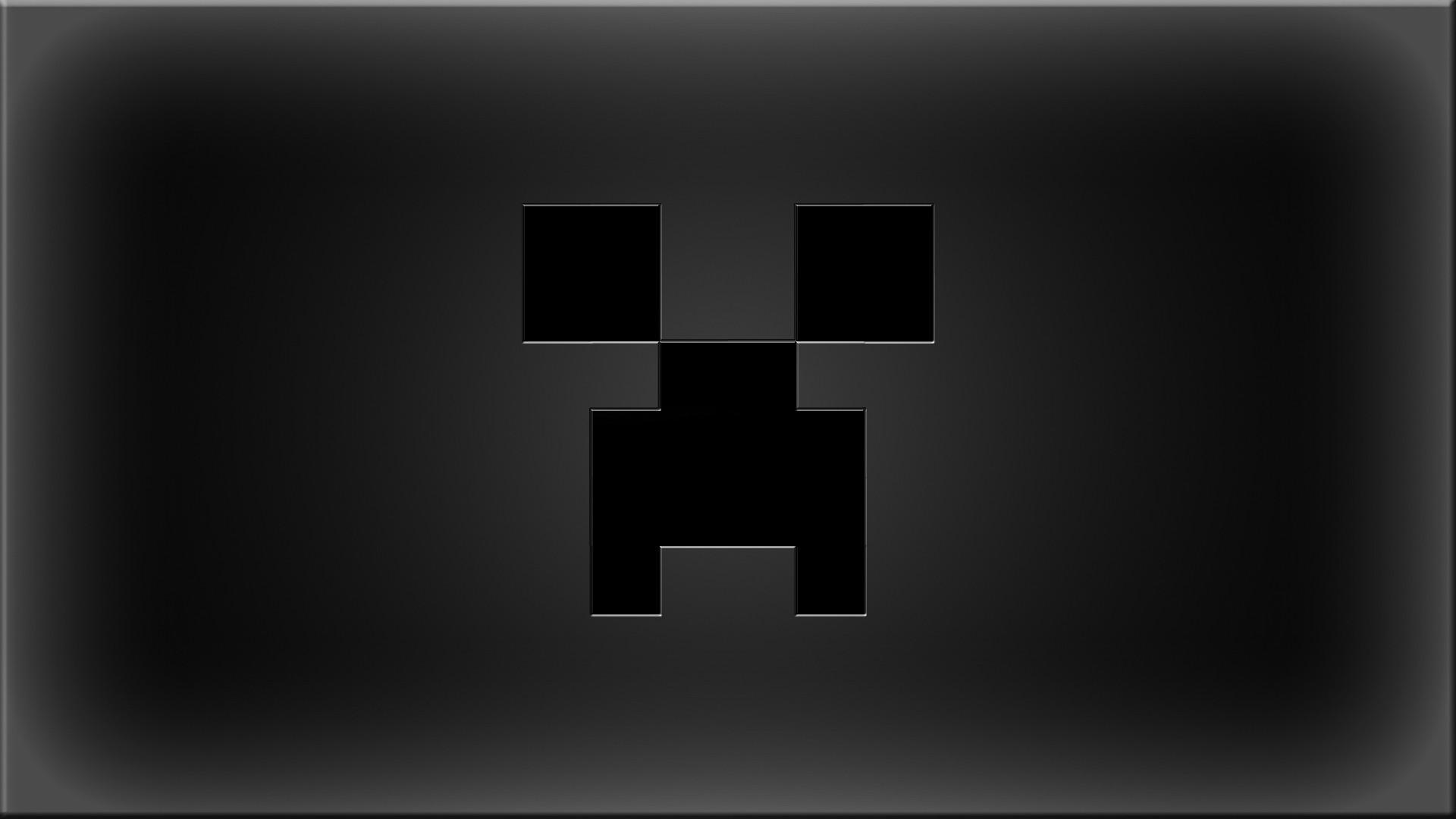 Fondos De Pantalla Monocromo Texto Logo Minecraft