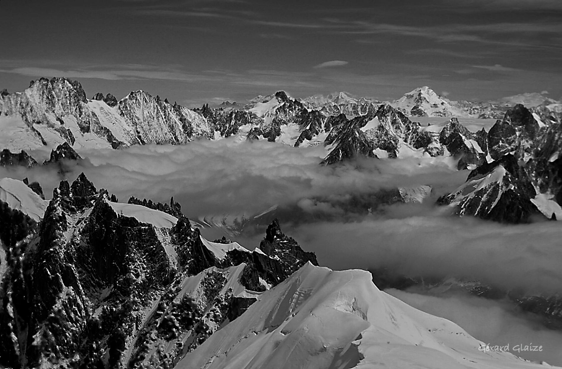 Wallpaper Montagne Mountain Alpes Alps Paysage