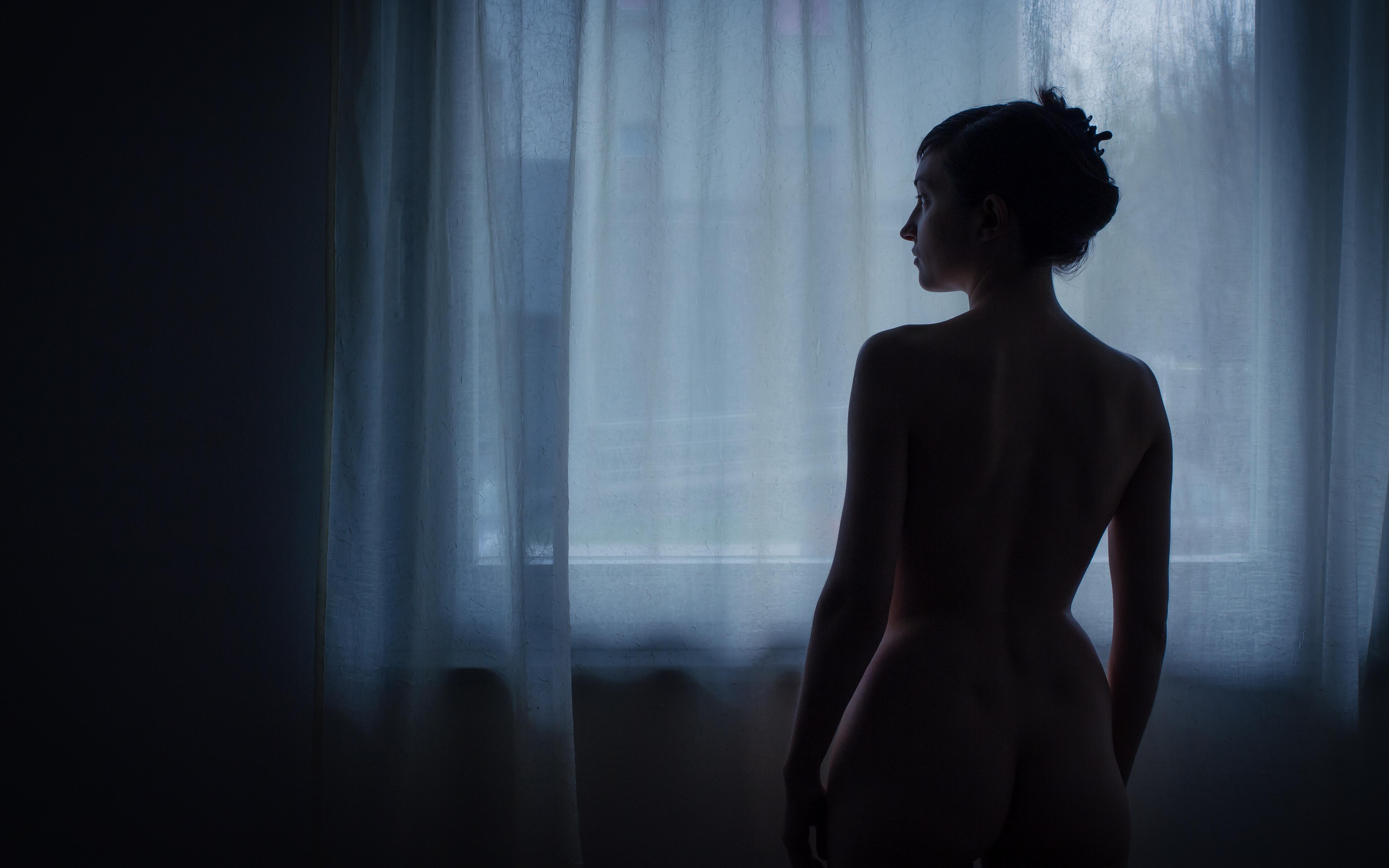 Fondos de pantalla : Mañana, azul, sombra, mujer, autorretrato, yo ...