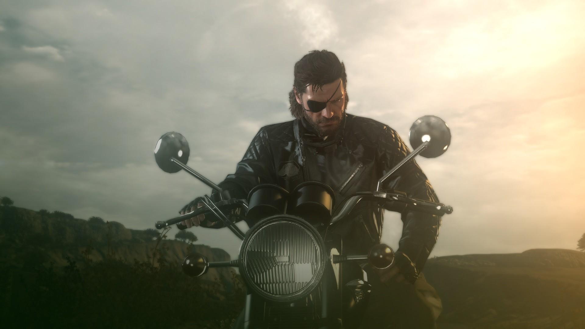 wallpaper : motorcycle, vehicle, metal gear solid, metal gear solid