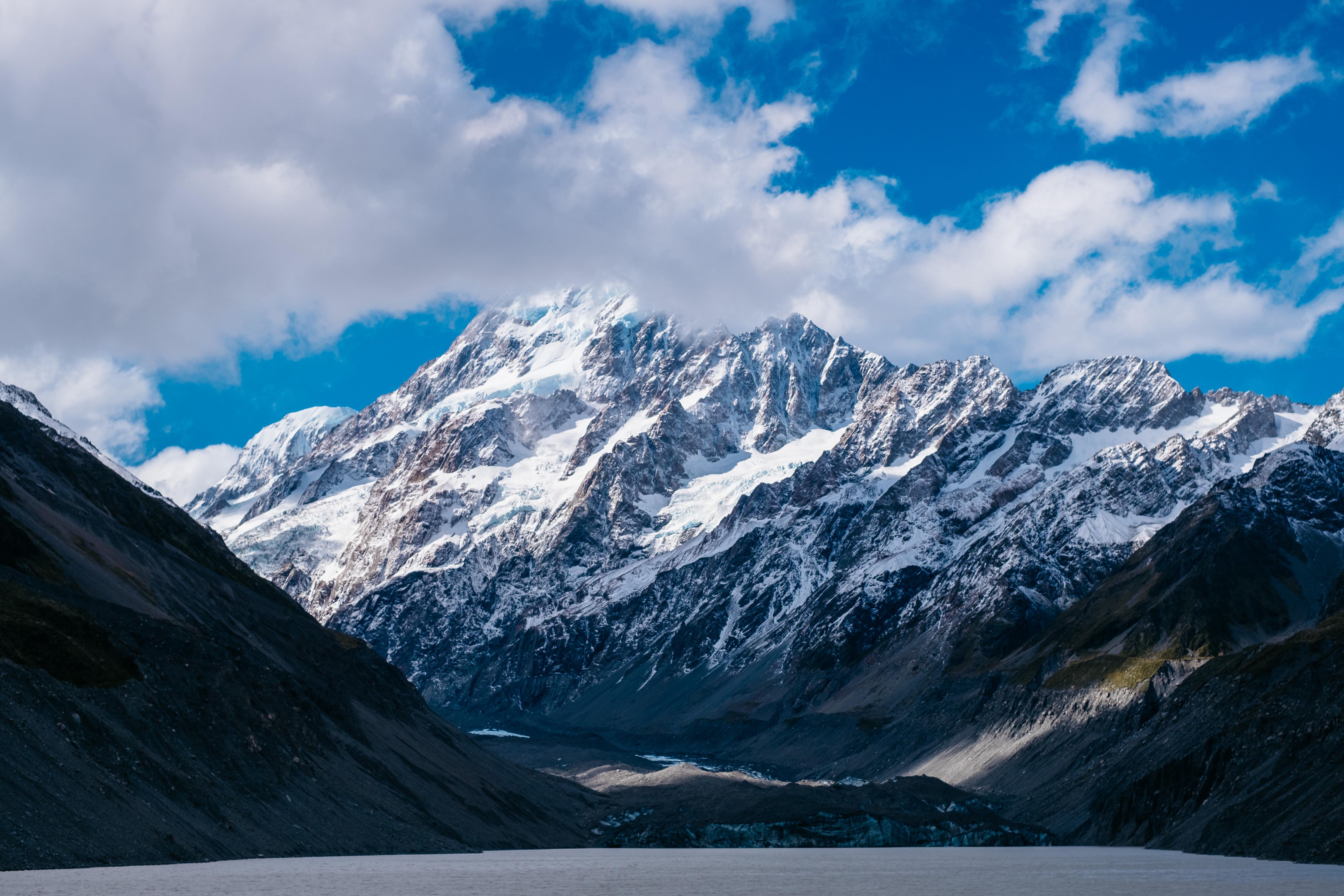Nový Zéland Facebook: Tapety : Hory, Nový Zéland, Nebe, Mraky 5000x3333