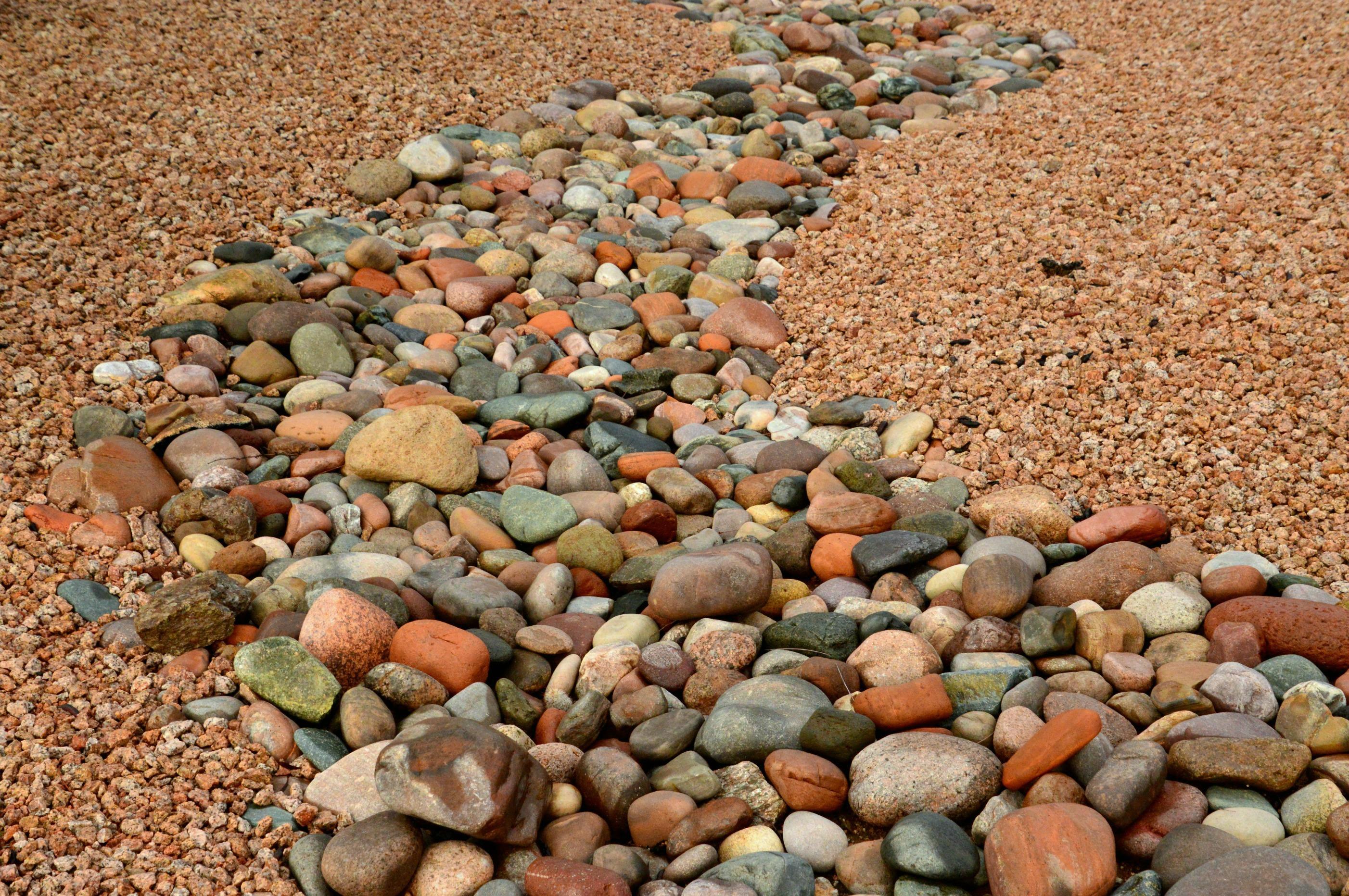 Schön Gartengestaltung Mit Kies Und Steinen Ideen