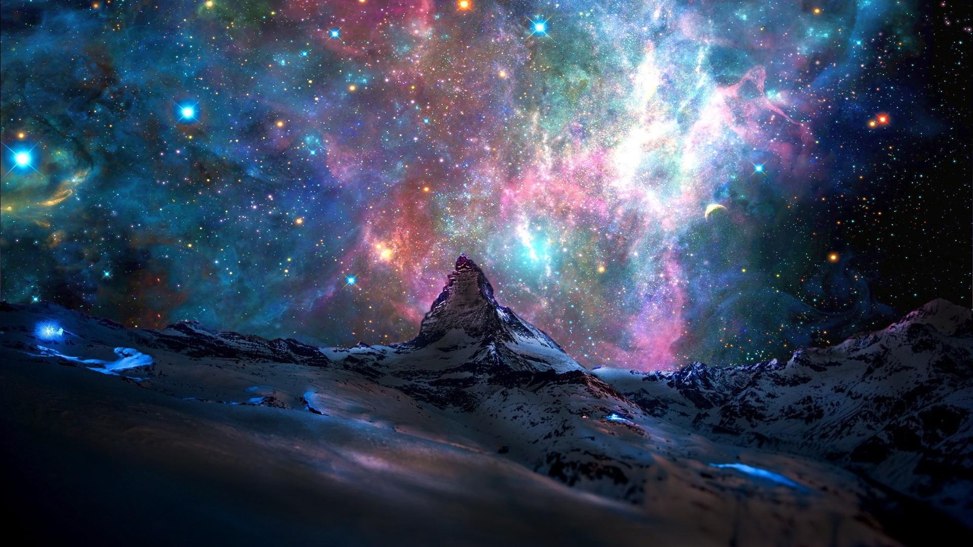 Фото галактика фэнтези безмятежность