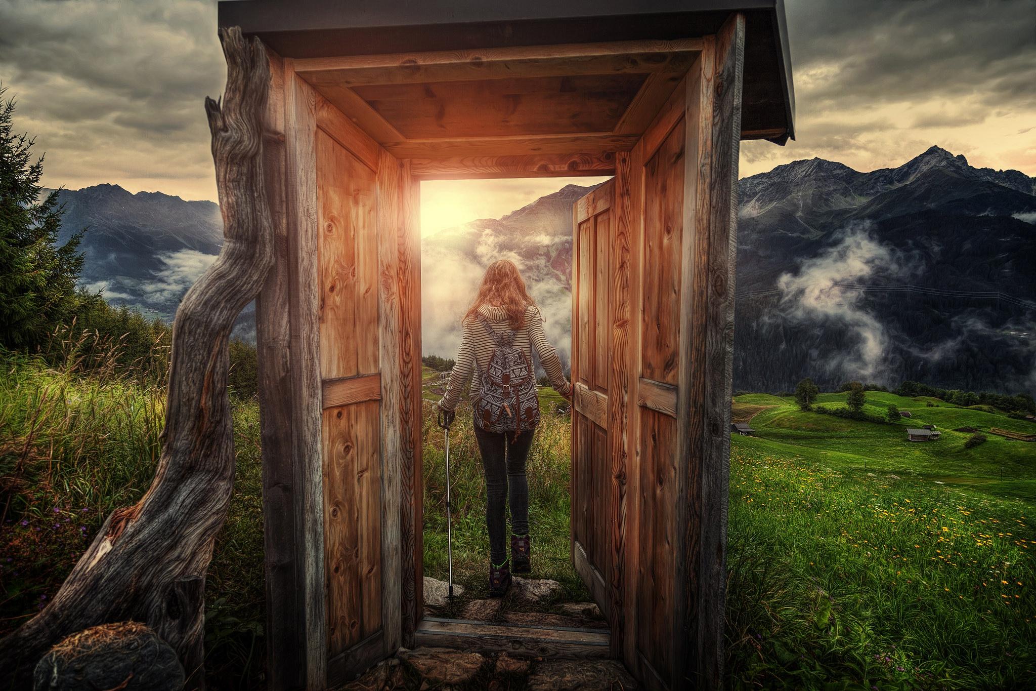 Сказочный шкаф мечты фото