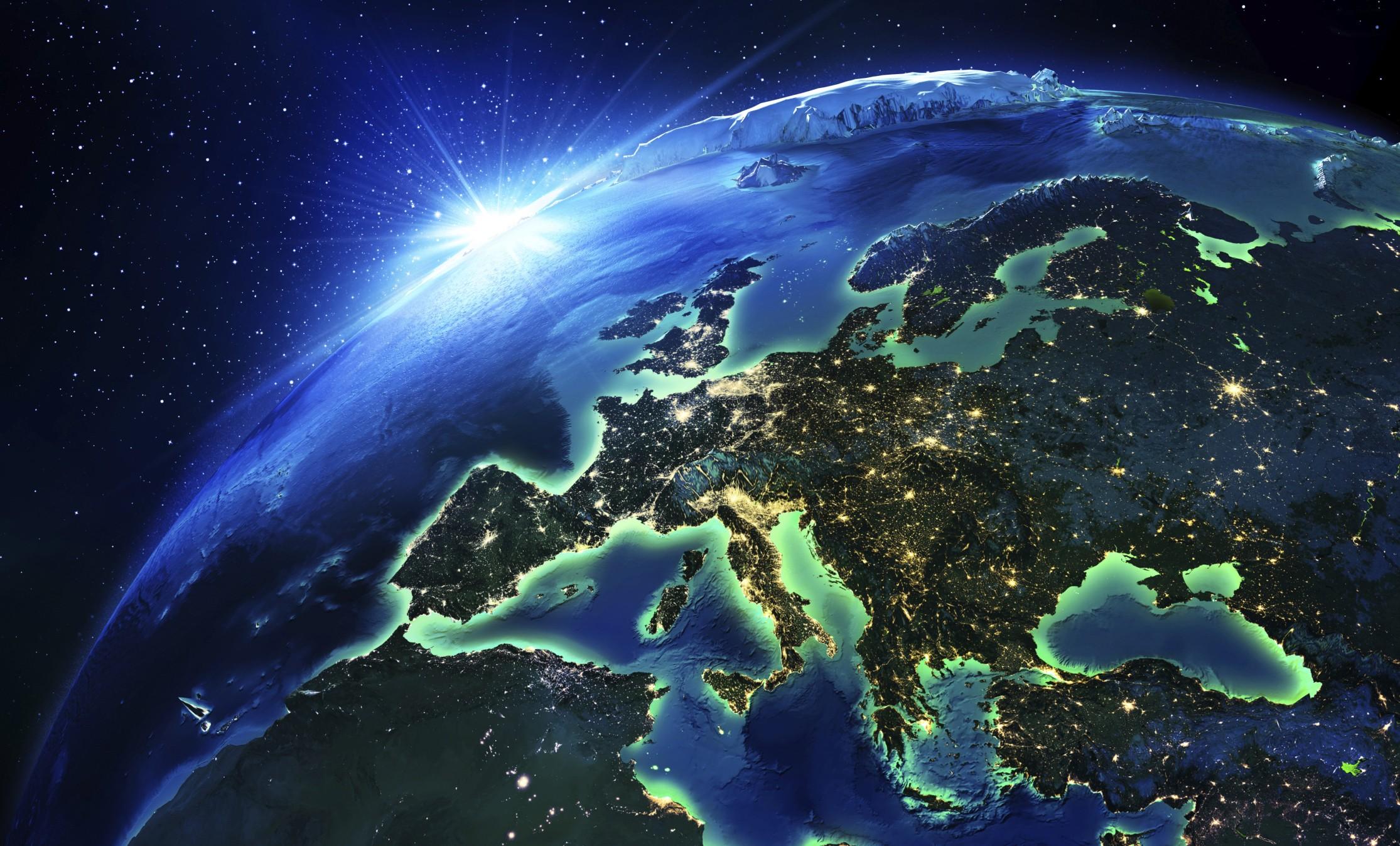 фото земного шара из космоса высокого разрешения его