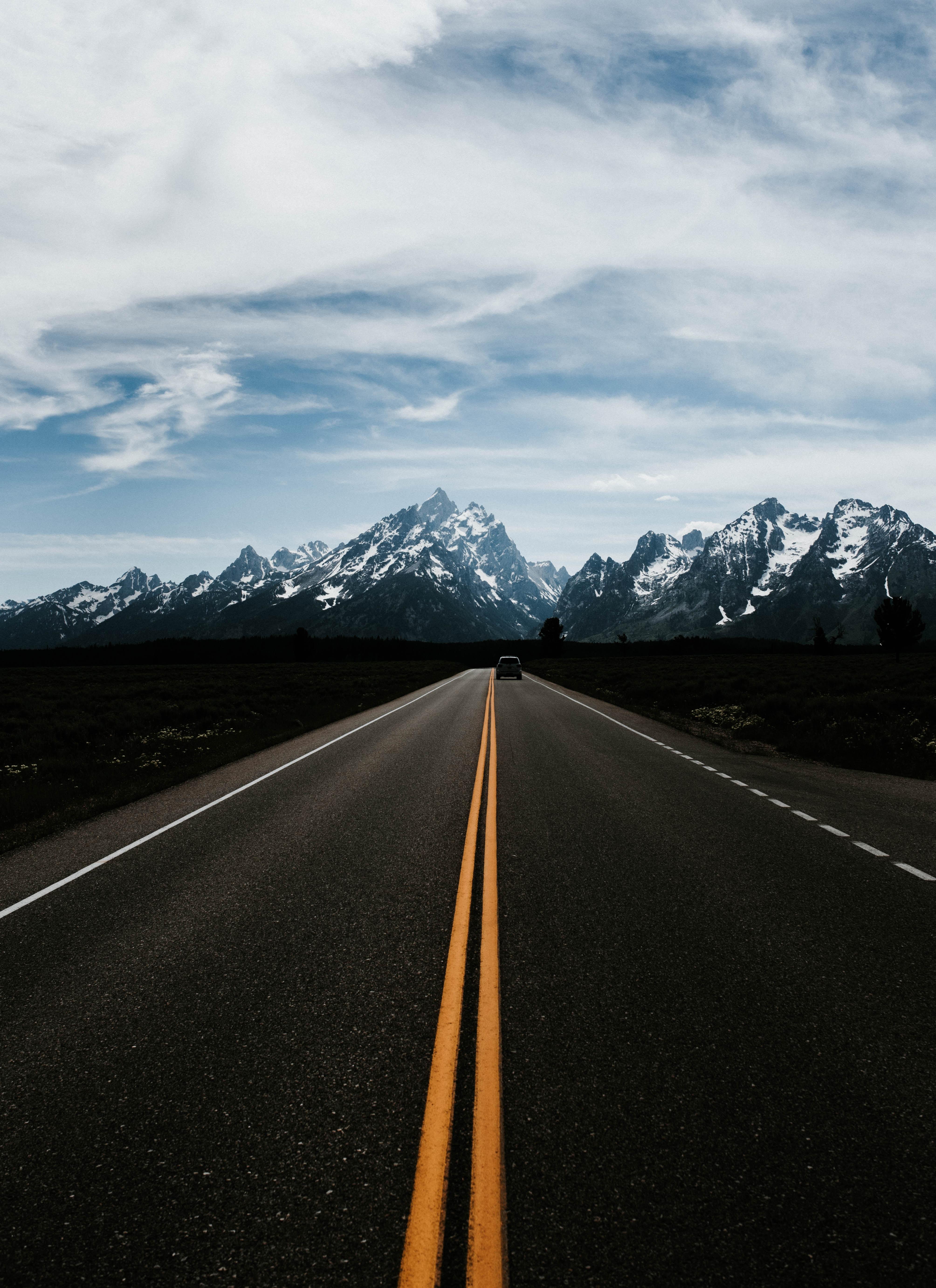 Fondos de pantalla : montañas, la carretera, calificación ...