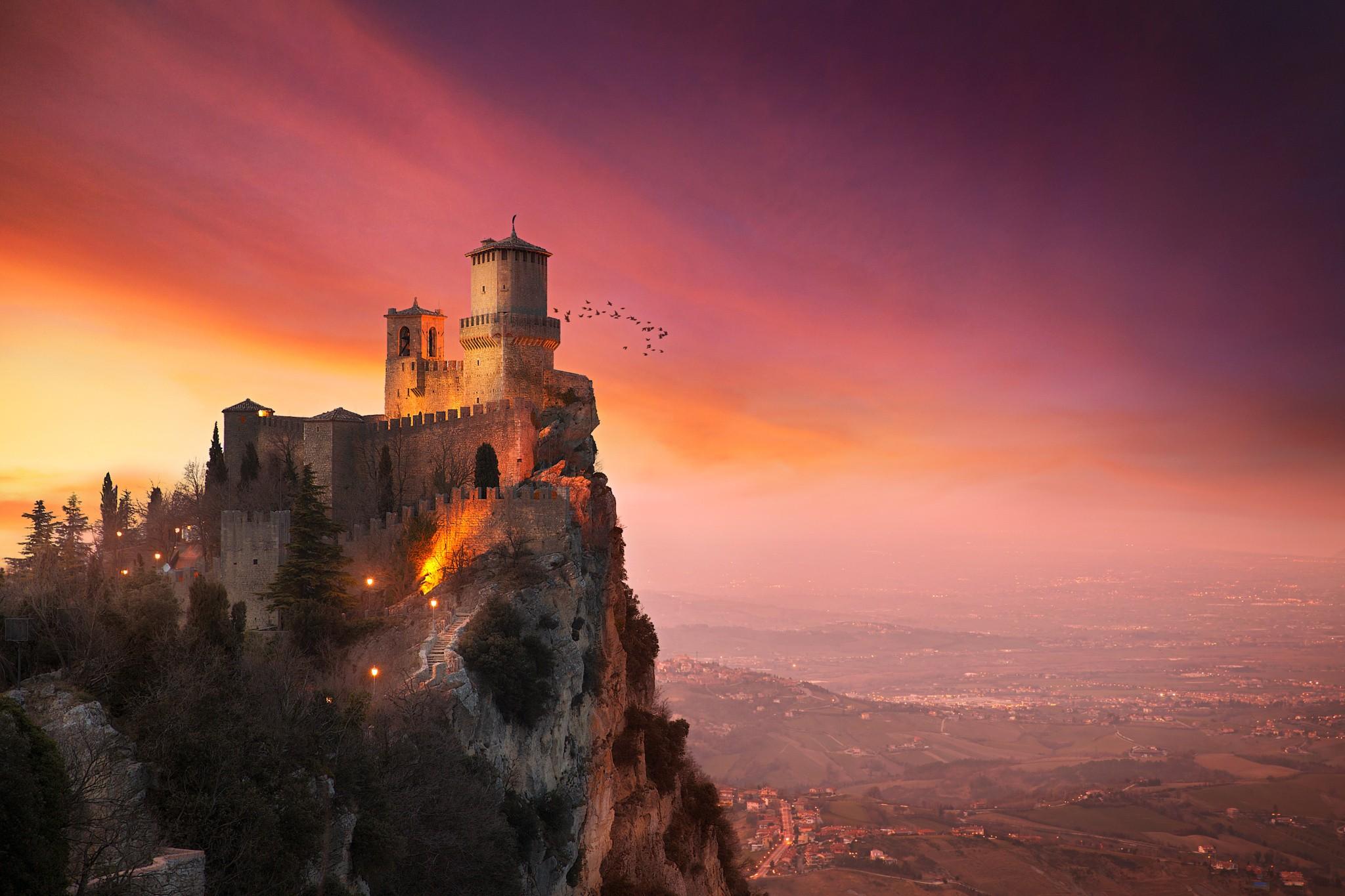Замок солнца картинки