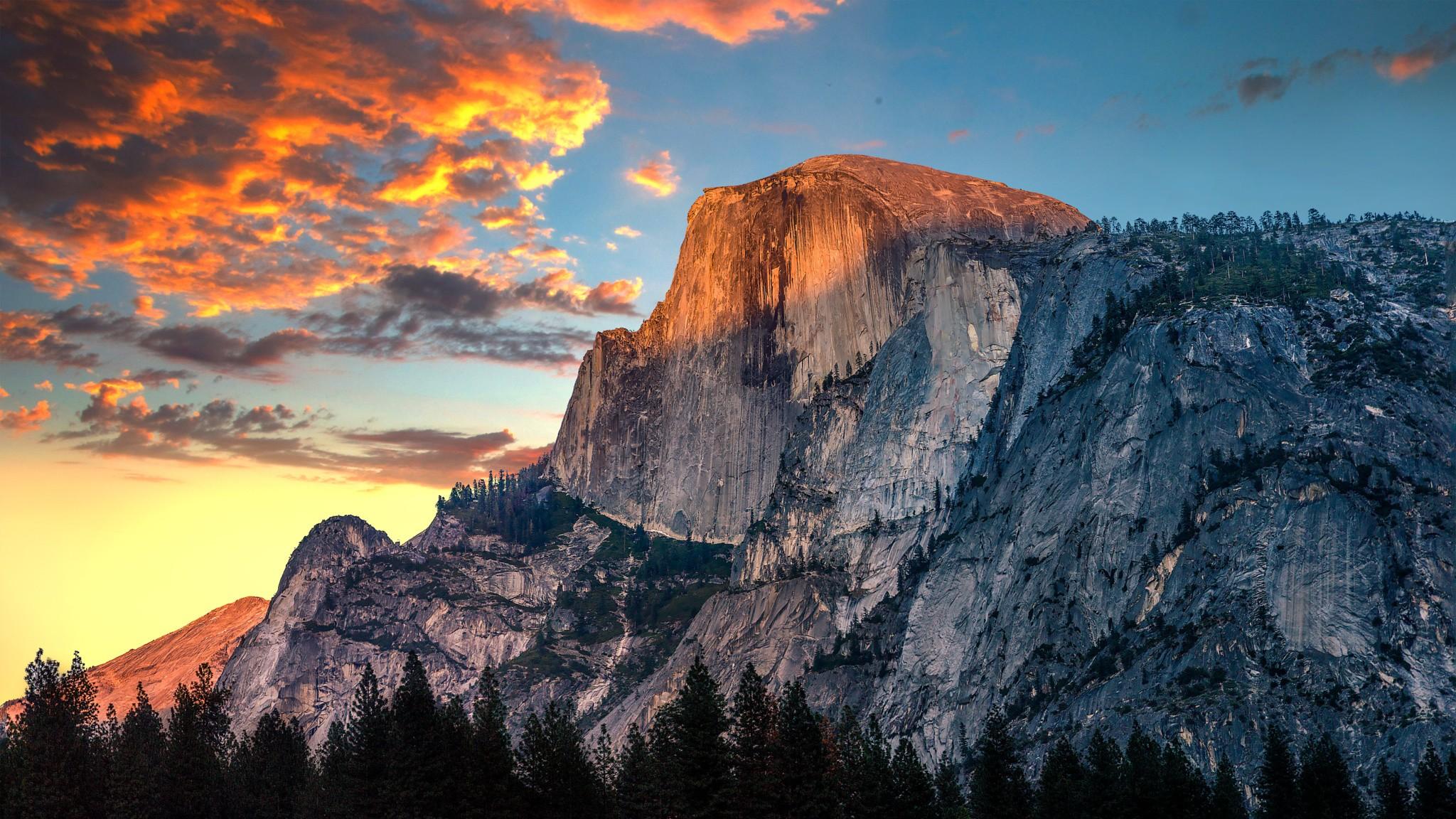 Wallpaper Mountains Sunset Rock Nature Sky Sunrise