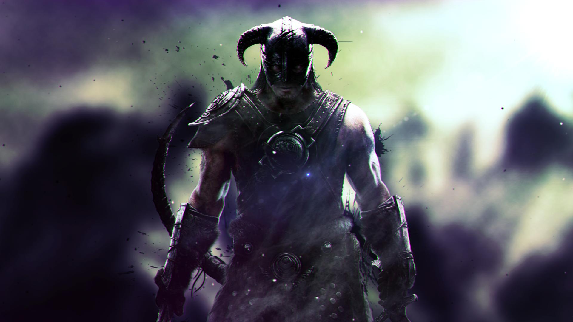 Elder Scrolls V Skyrim Dragonborn Dovakhiin