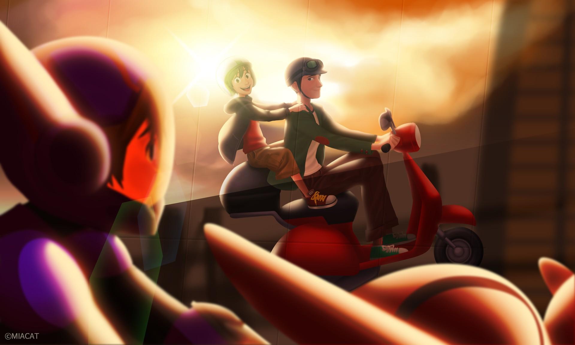 Movies Baymax Big Hero 6 Animated Disney Hiro Hamada
