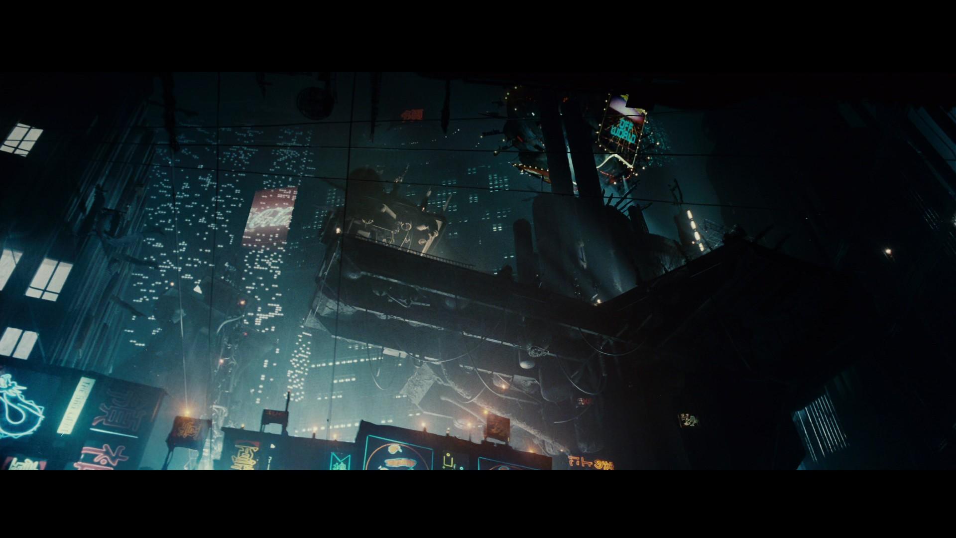 デスクトップ壁紙 映画 ブレードランナー 真夜中 ステージ 闇