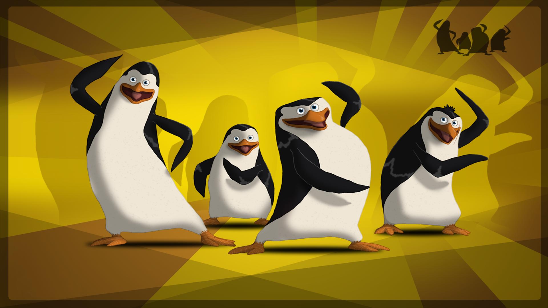 Пингвины мадагаскара картинки на рабочий стол