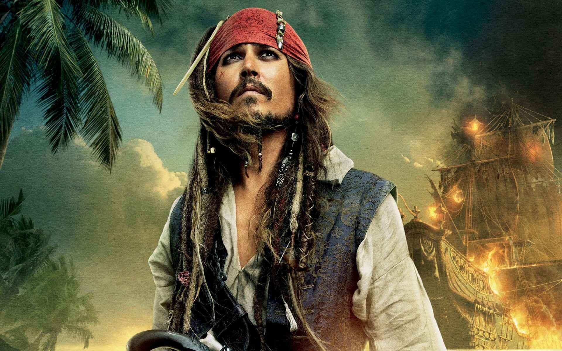 что джонни депп фото пираты карибского моря первый торт