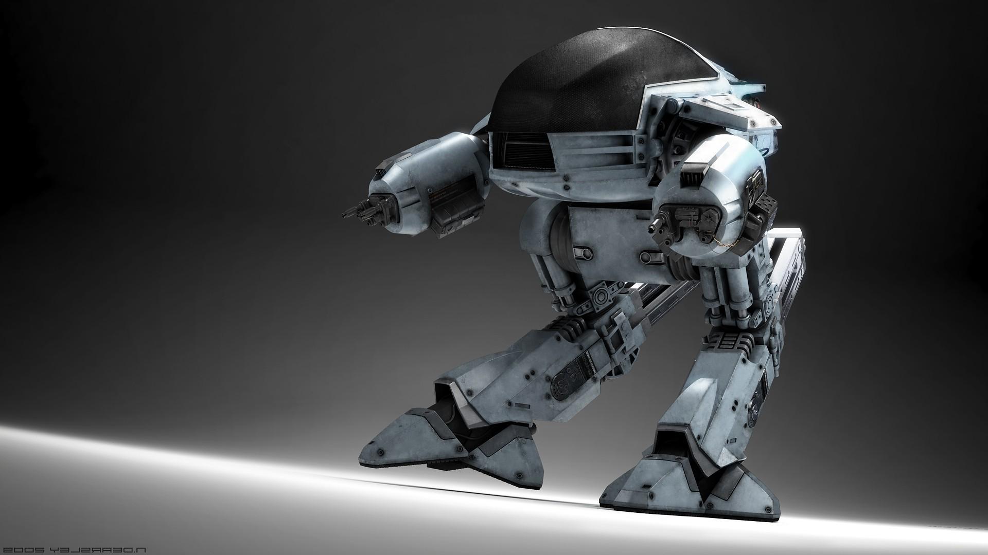 wallpaper : movies, toy, machine, robocop, ed 209, screenshot, mecha