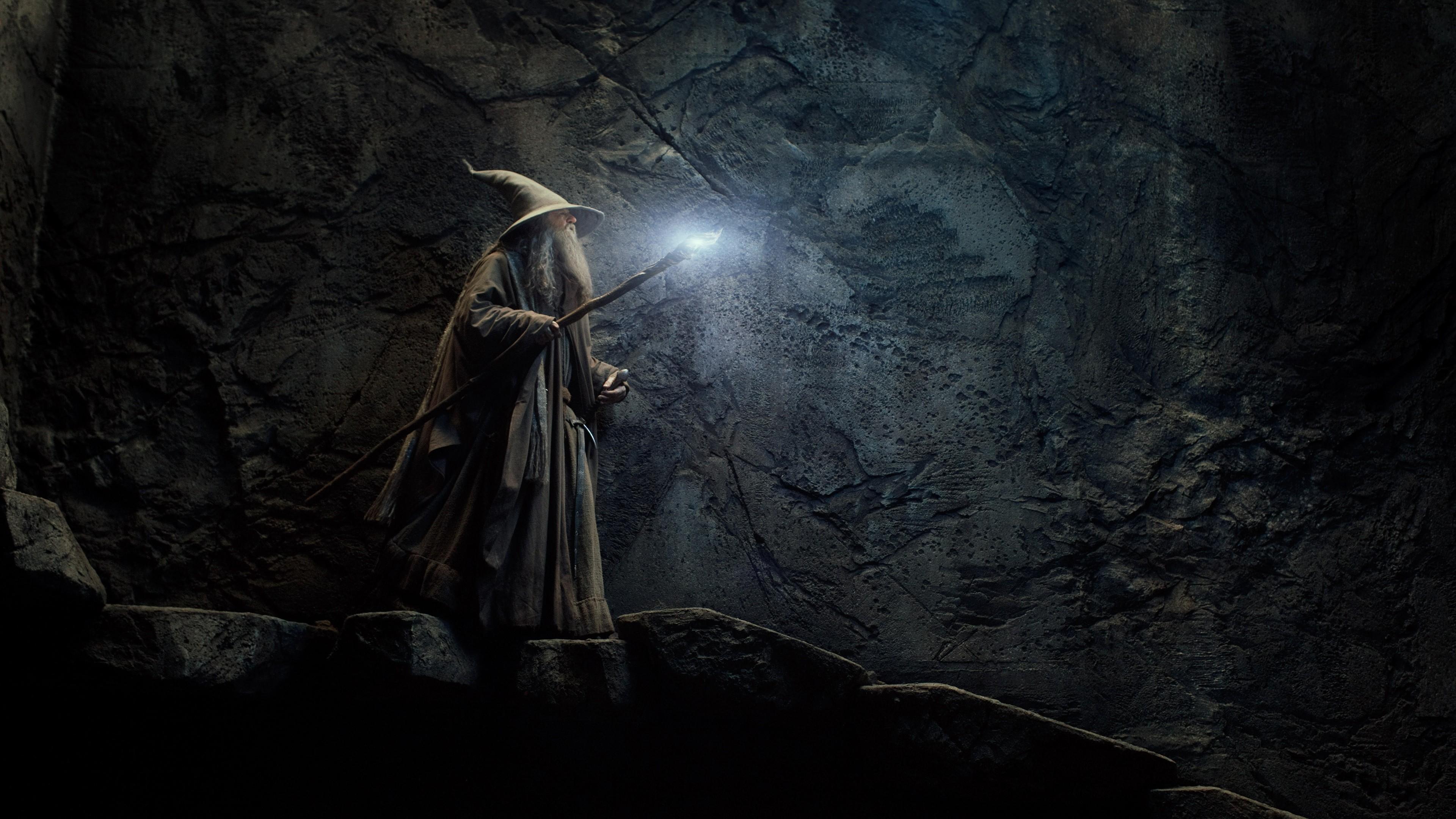 Fond Décran Films La Grotte Le Seigneur Des Anneaux Le