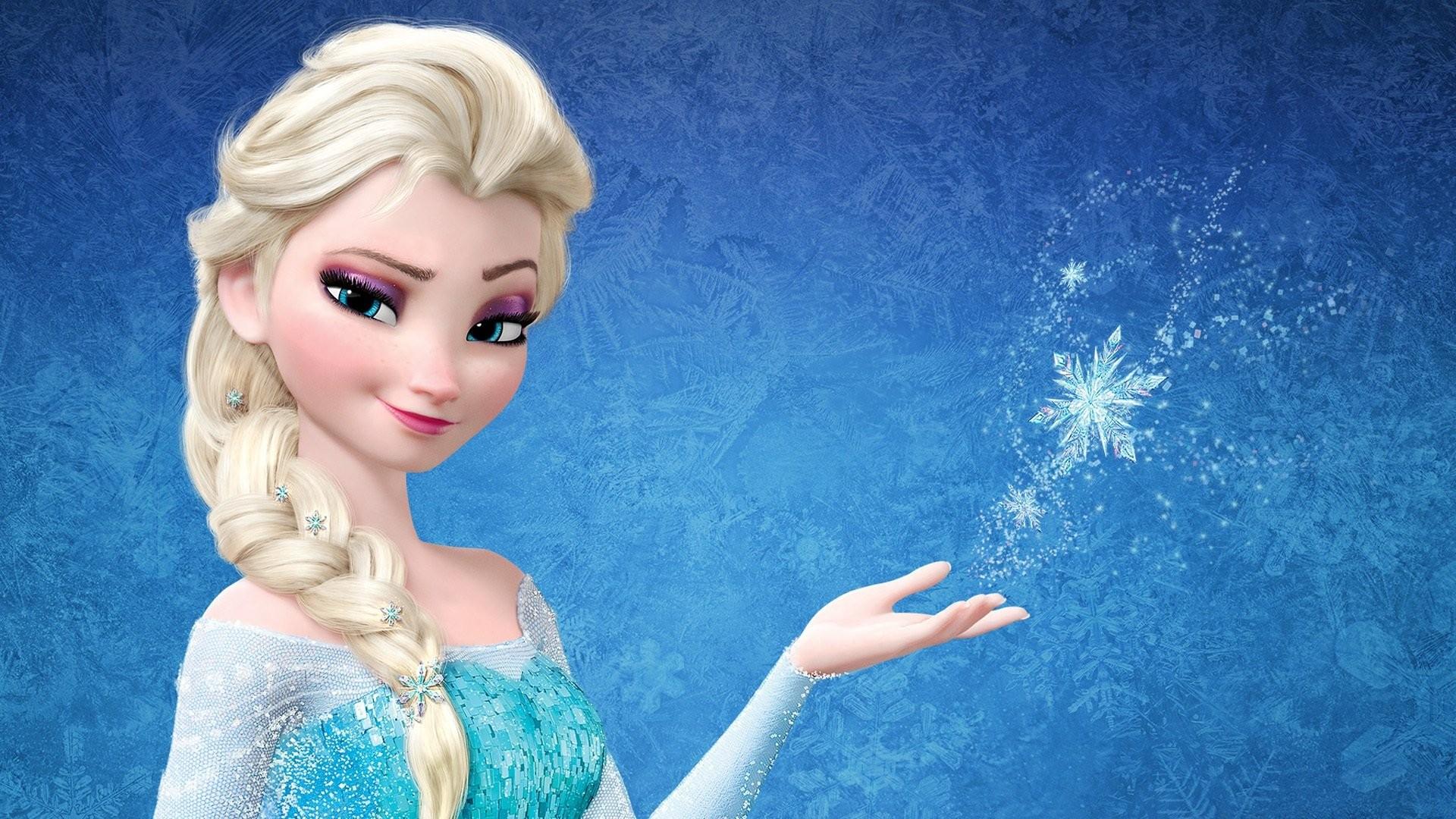 Hintergrundbilder Kleid Blau Gefrorener Film Haar Spielzeug