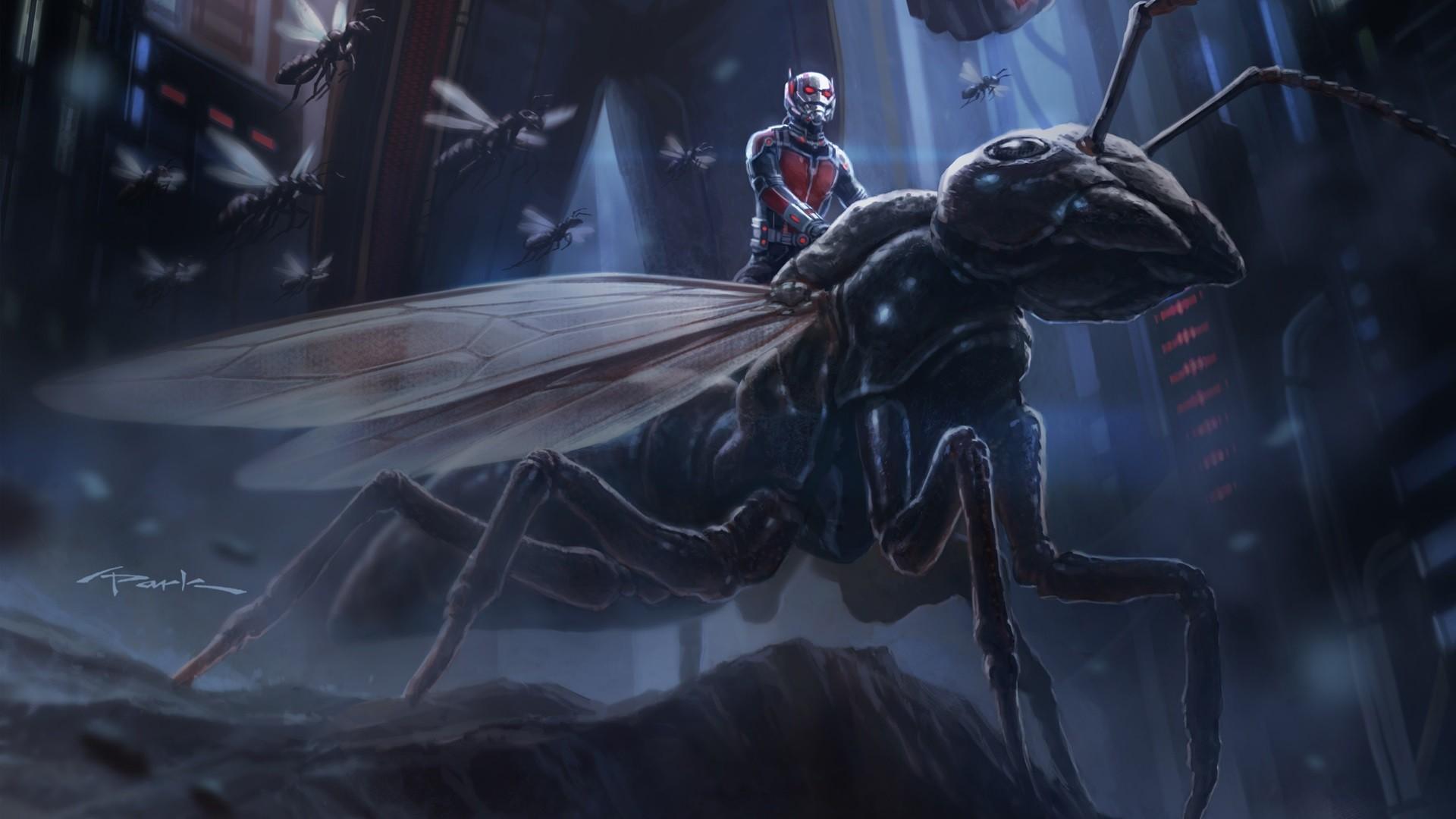 Картинки муравей и человек