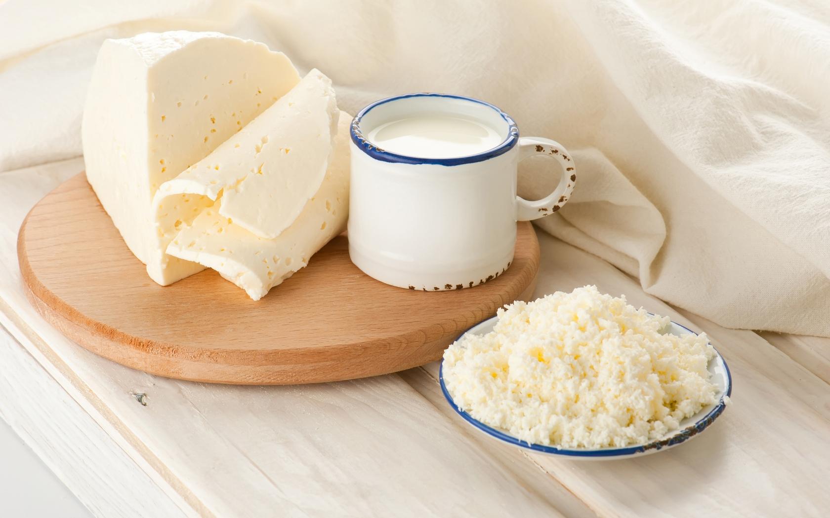 Wallpaper Mug Cottage Cheese Milk 1680x1050