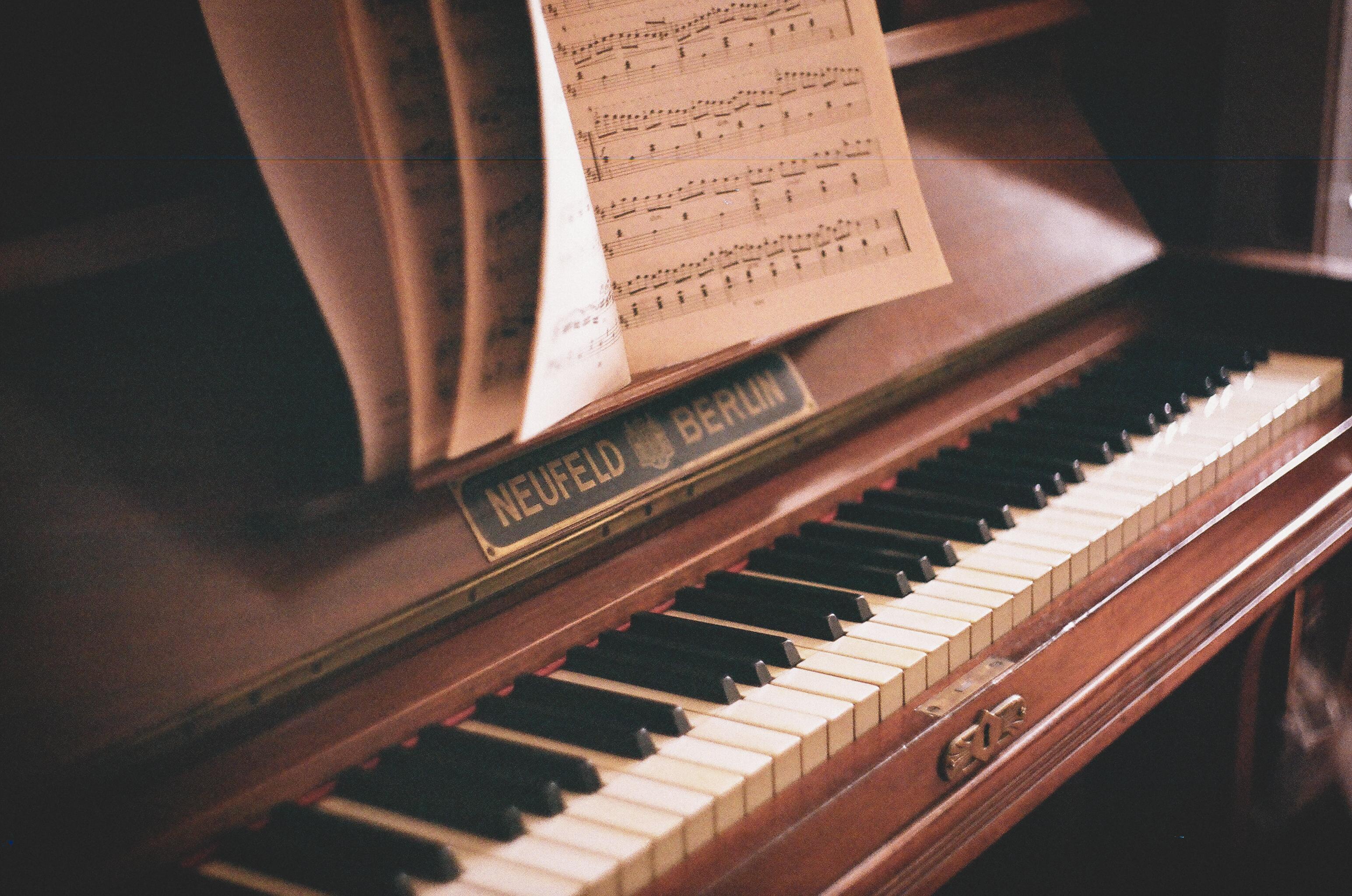 красивые картинки фортепиано ноты