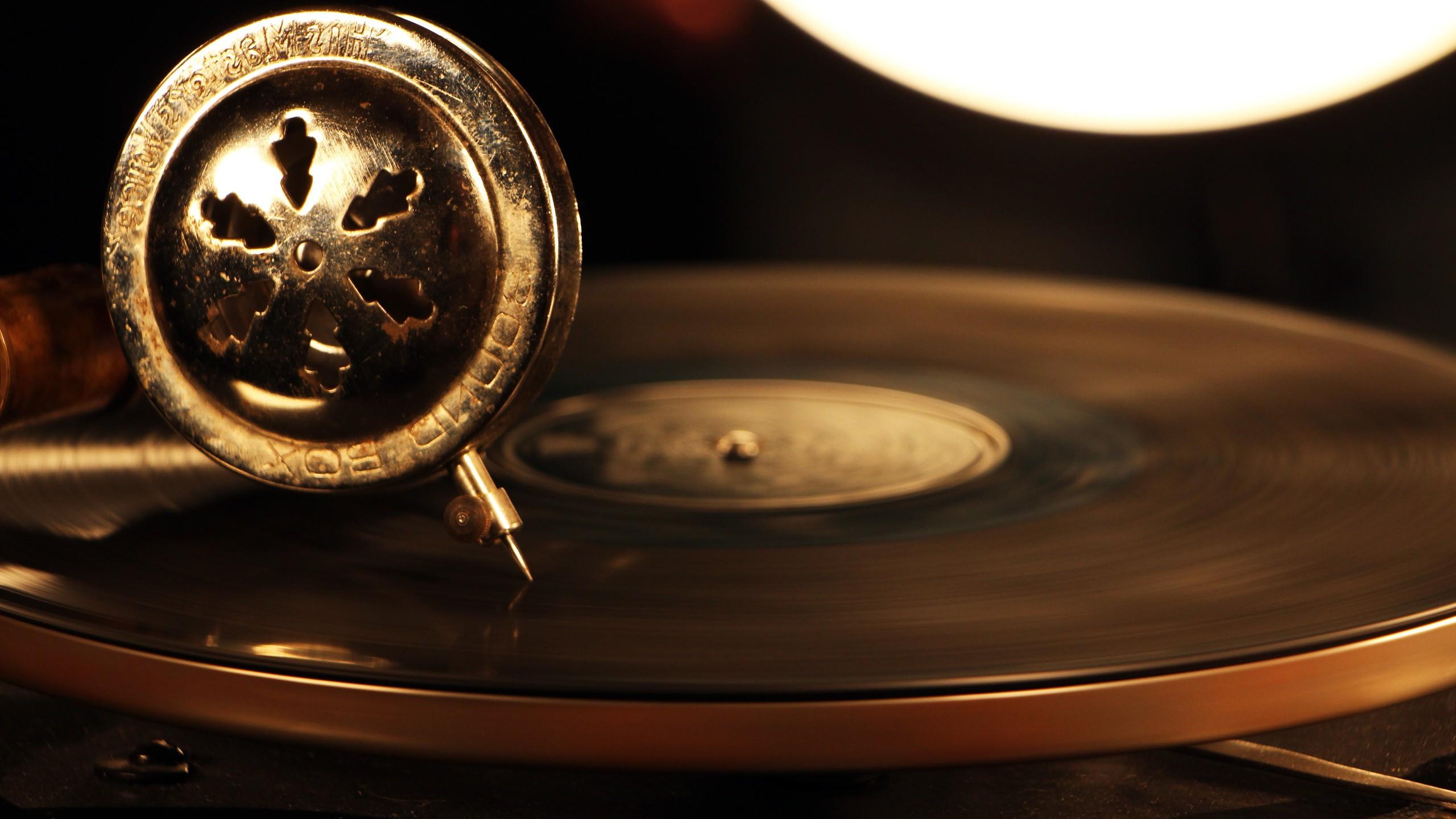 Wallpaper Music Metal Technology Circle Vintage