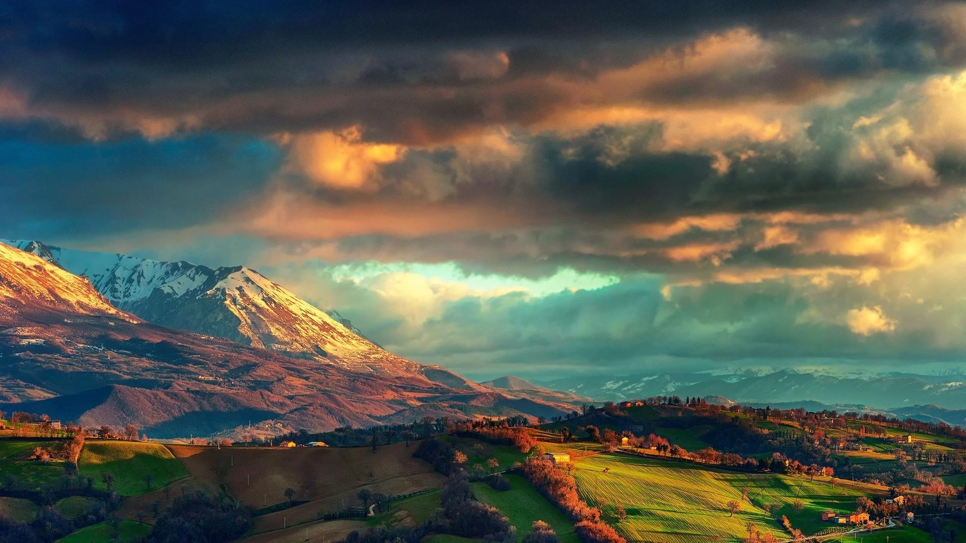 10 Best 3d Wallpaper Hd Nature Full Hd 1920 1080 For Pc: Sfondi : Natura, Paesaggio, Montagne, Nuvole, Italia, Alpi