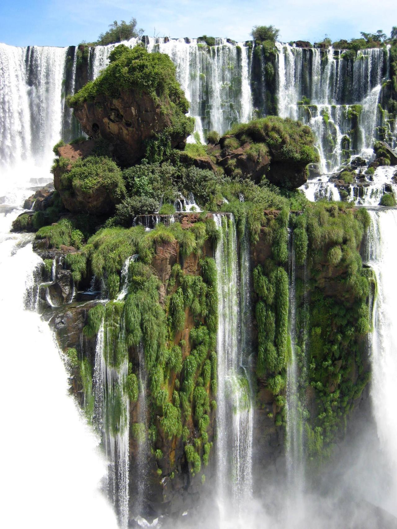 Wallpaper Nature Landscape Waterfall Iguazu Falls