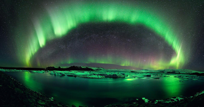 Fond d 39 cran la nature ciel atmosph re aurore vue for Papier peint pour ordinateur
