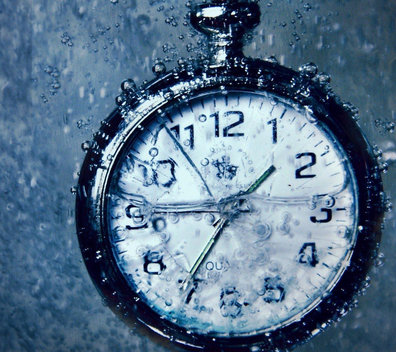 обои бесплатно скачать на рабочий стол часы в воде № 188101 бесплатно
