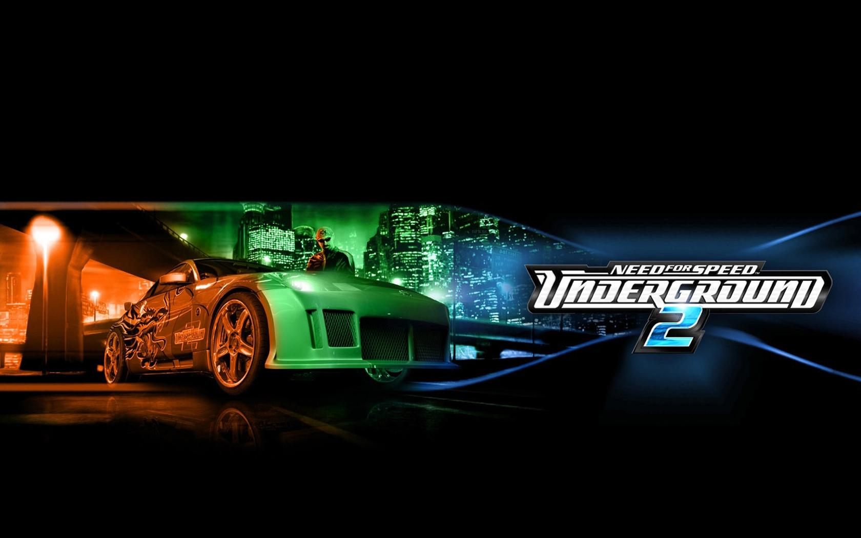 Wallpaper Need For Speed Underground 2 Nissan City Bridge