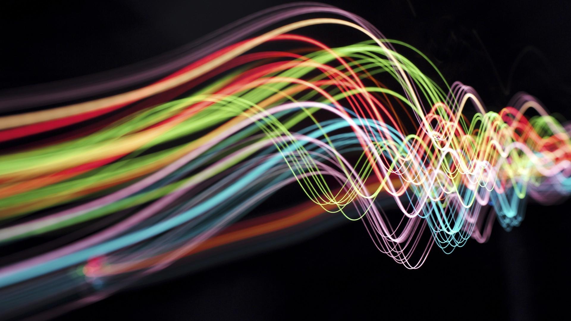Hintergrundbilder : Neon-, abstrakt, Grün, Technologie, Kabel, Licht ...