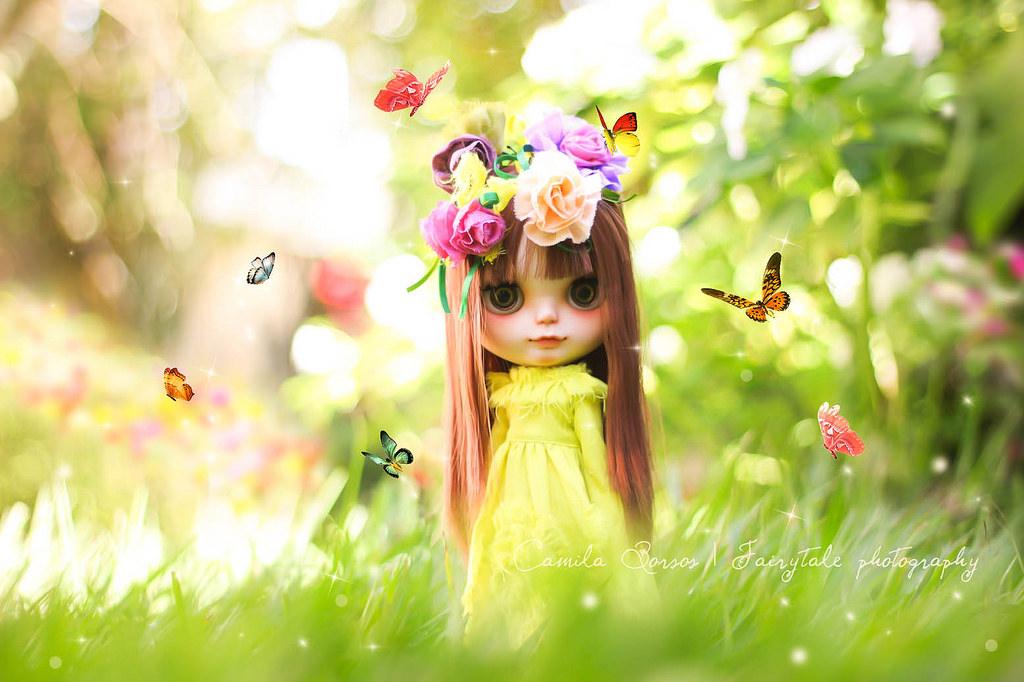 Baggrunde : neon, græs, kjole, grøn, Legetøj, forår, dukke ...