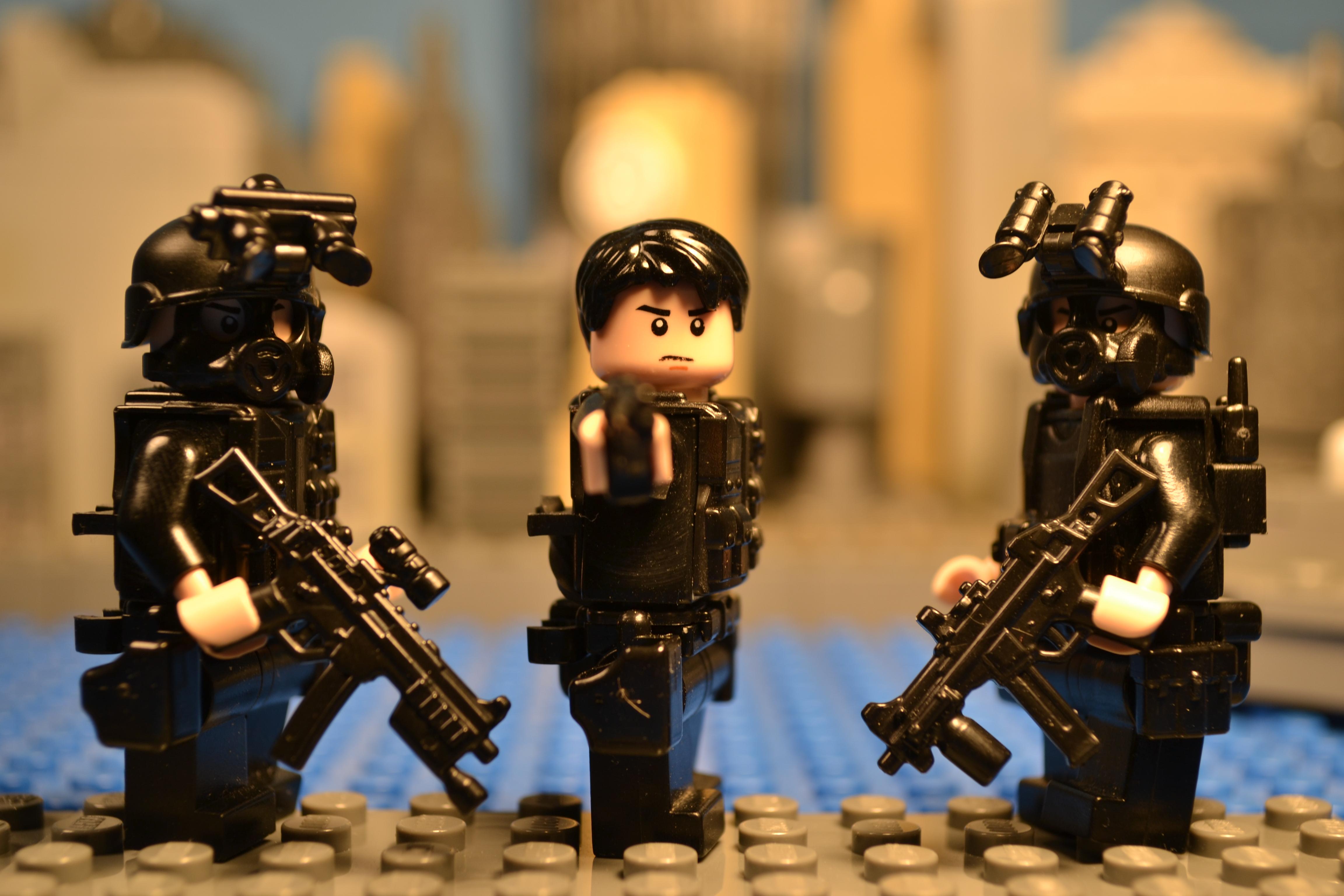 New City Detail Modern War LEGO C Awesome Machine Mini Legos Animation Minifig Custom Combat Channel