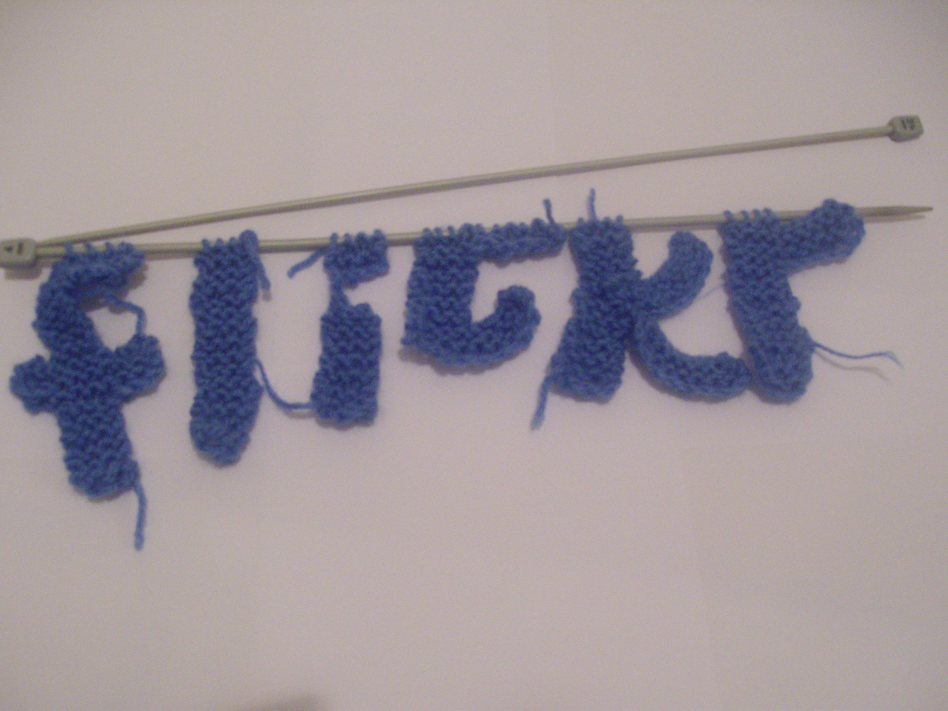 Wallpaper New Pink Blue White Cute Art Wool Thread