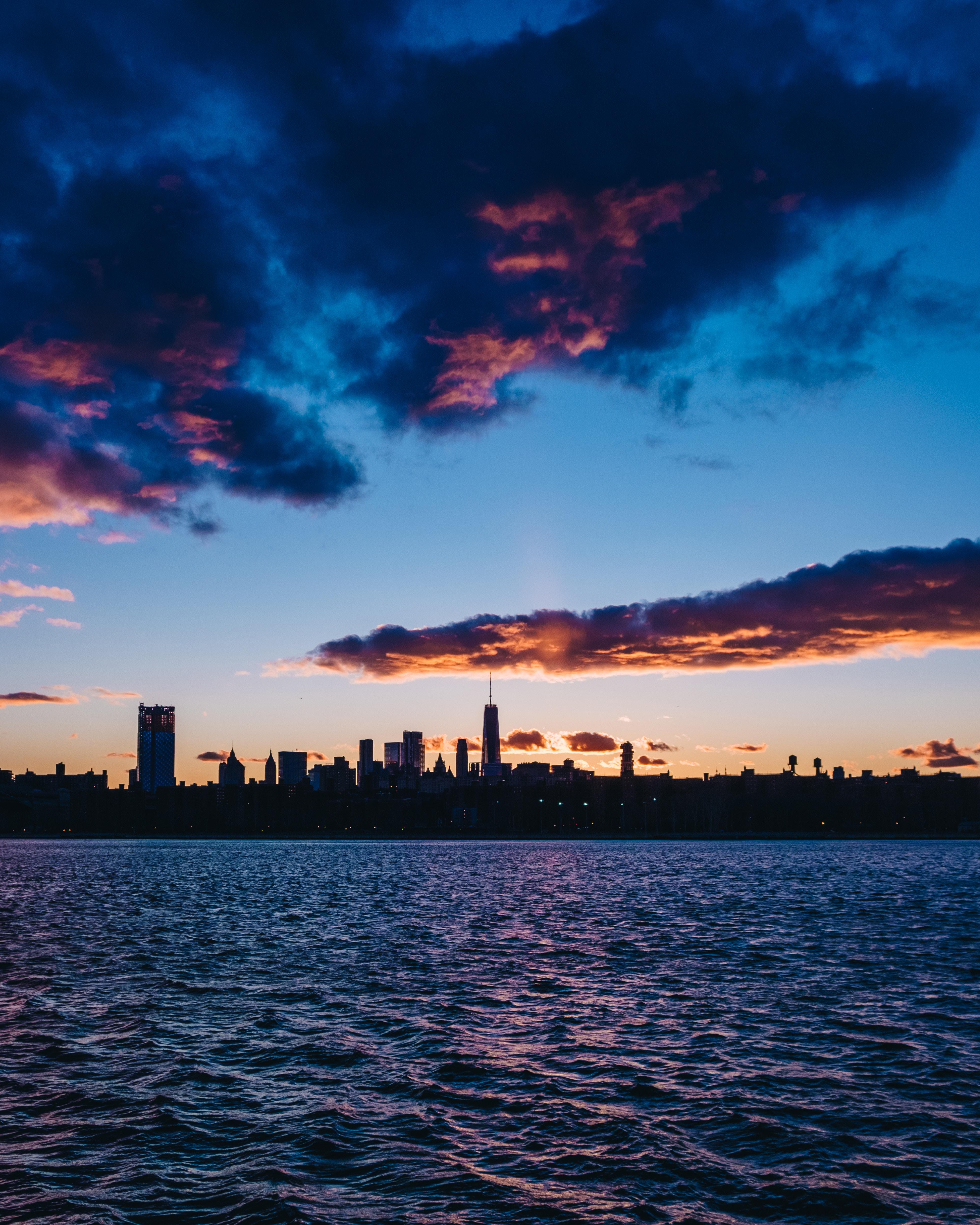 Sfondi New York Stati Uniti D America Citta Di Notte Panorama 3994x4992 Wallbase 1298539 Sfondi Gratis Wallhere