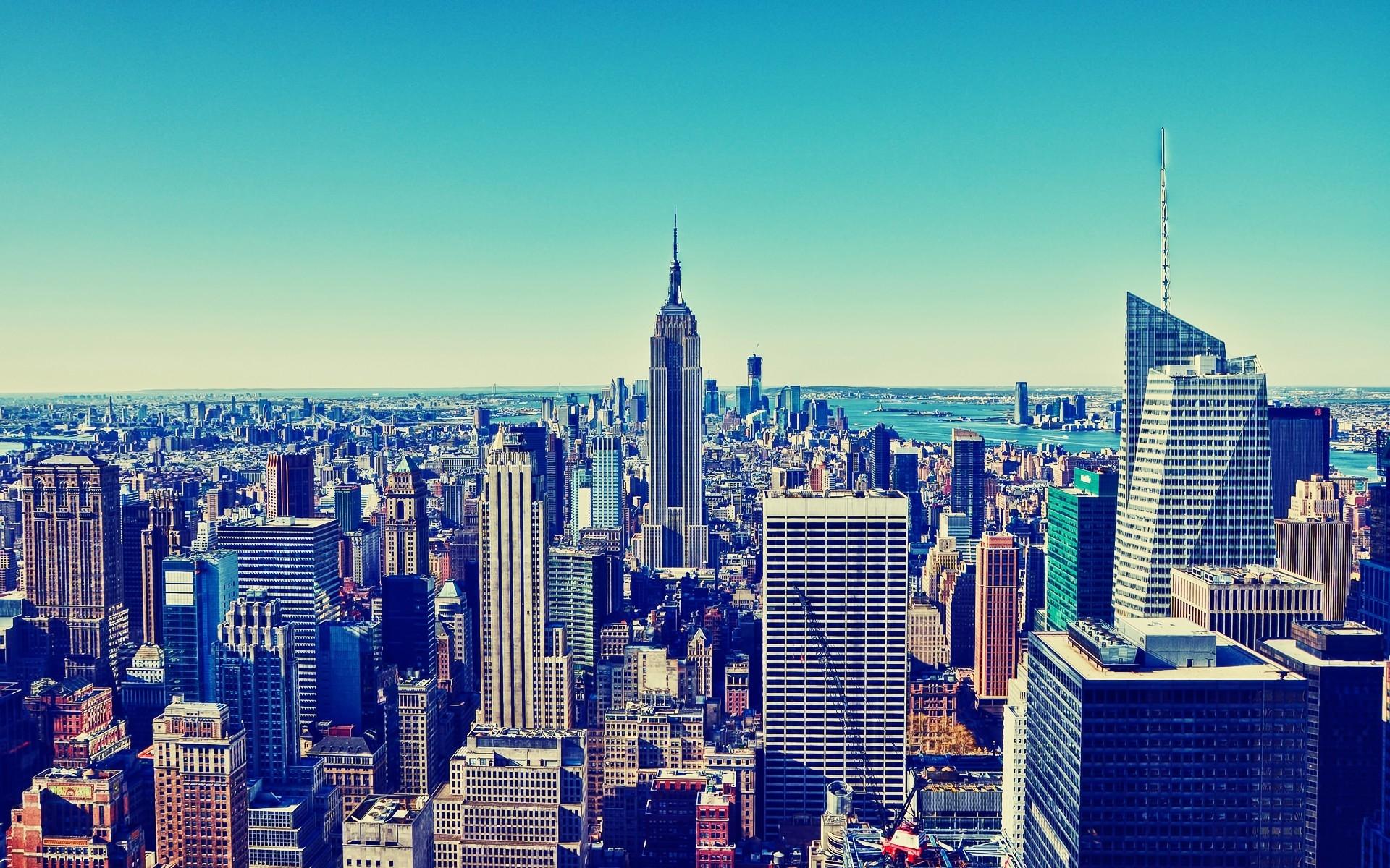 Fondos De Pantalla : Nueva York, Rascacielos, Edificios