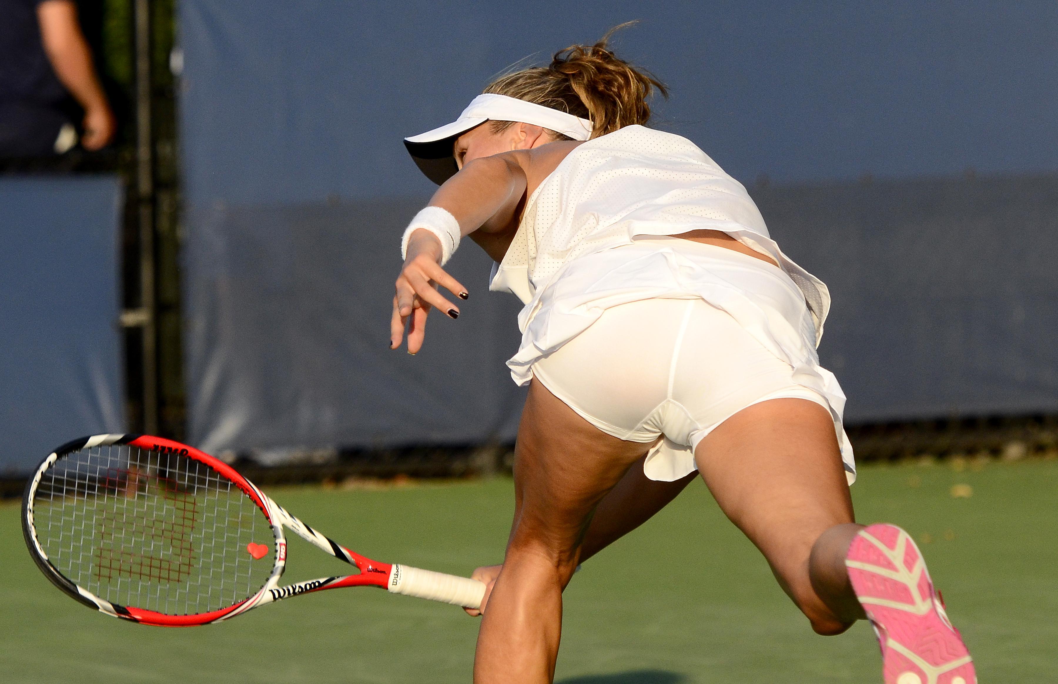 случайное оголение теннисисток