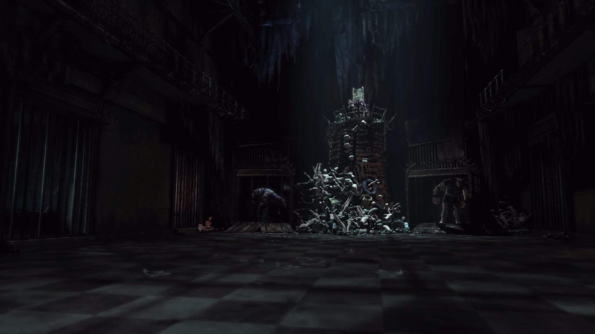 night Batman Joker Batman Arkham Asylum midnight light darkness screenshot 1920x1080 px computer wallpaper