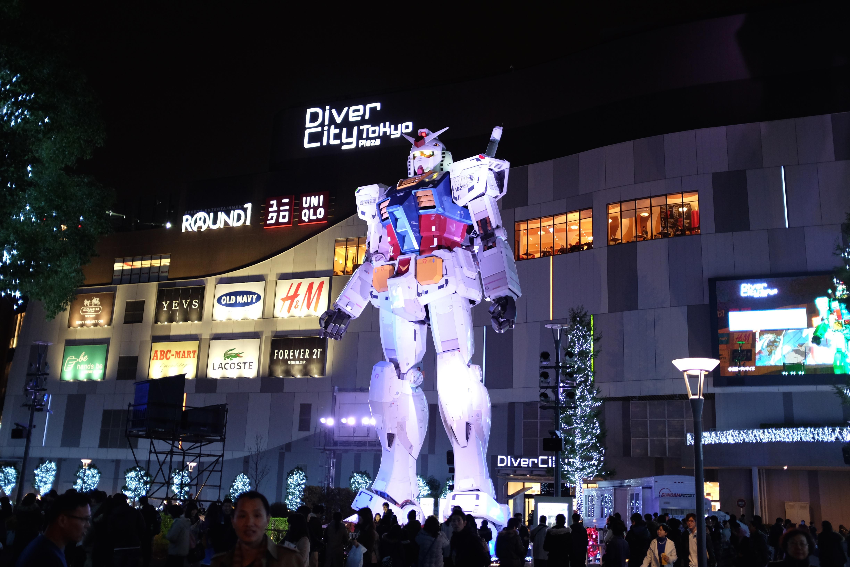 Обои tokyo, gundam. Города foto 18