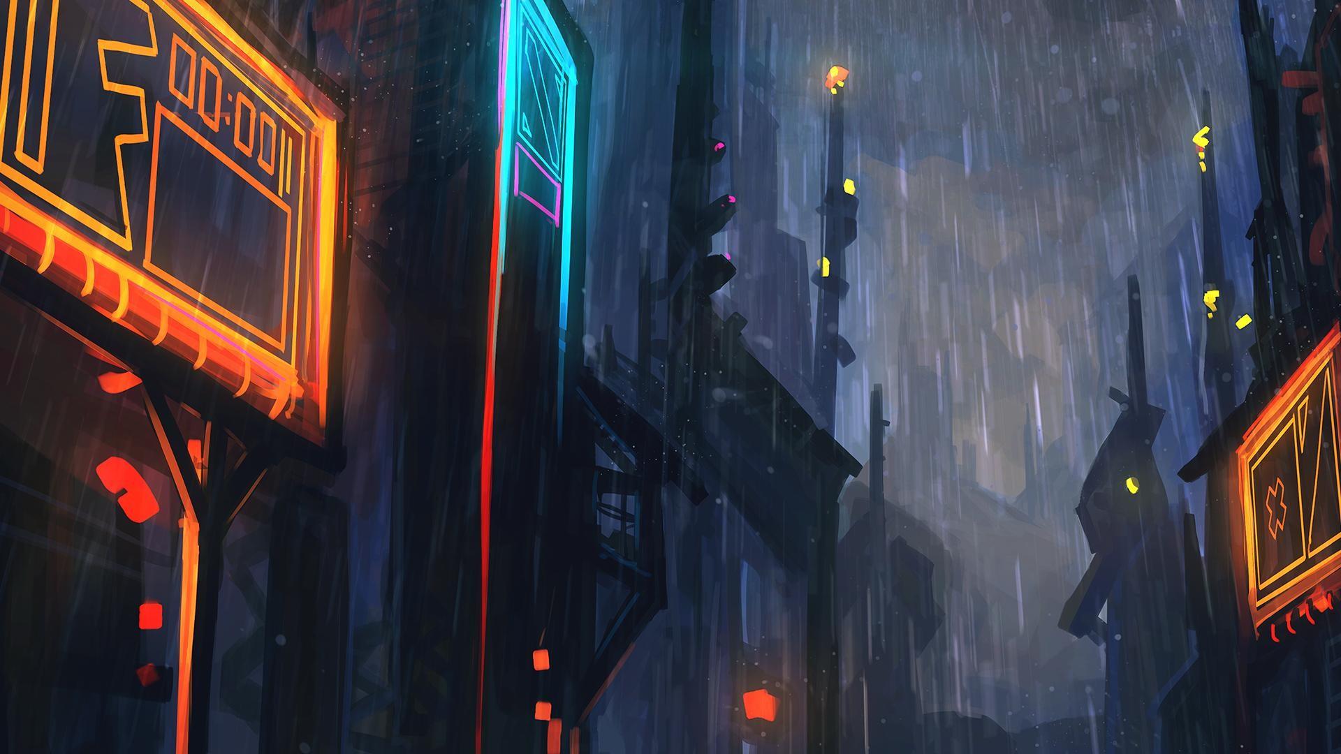 Wallpaper : night, artwork, blue, Monstercat, light, color