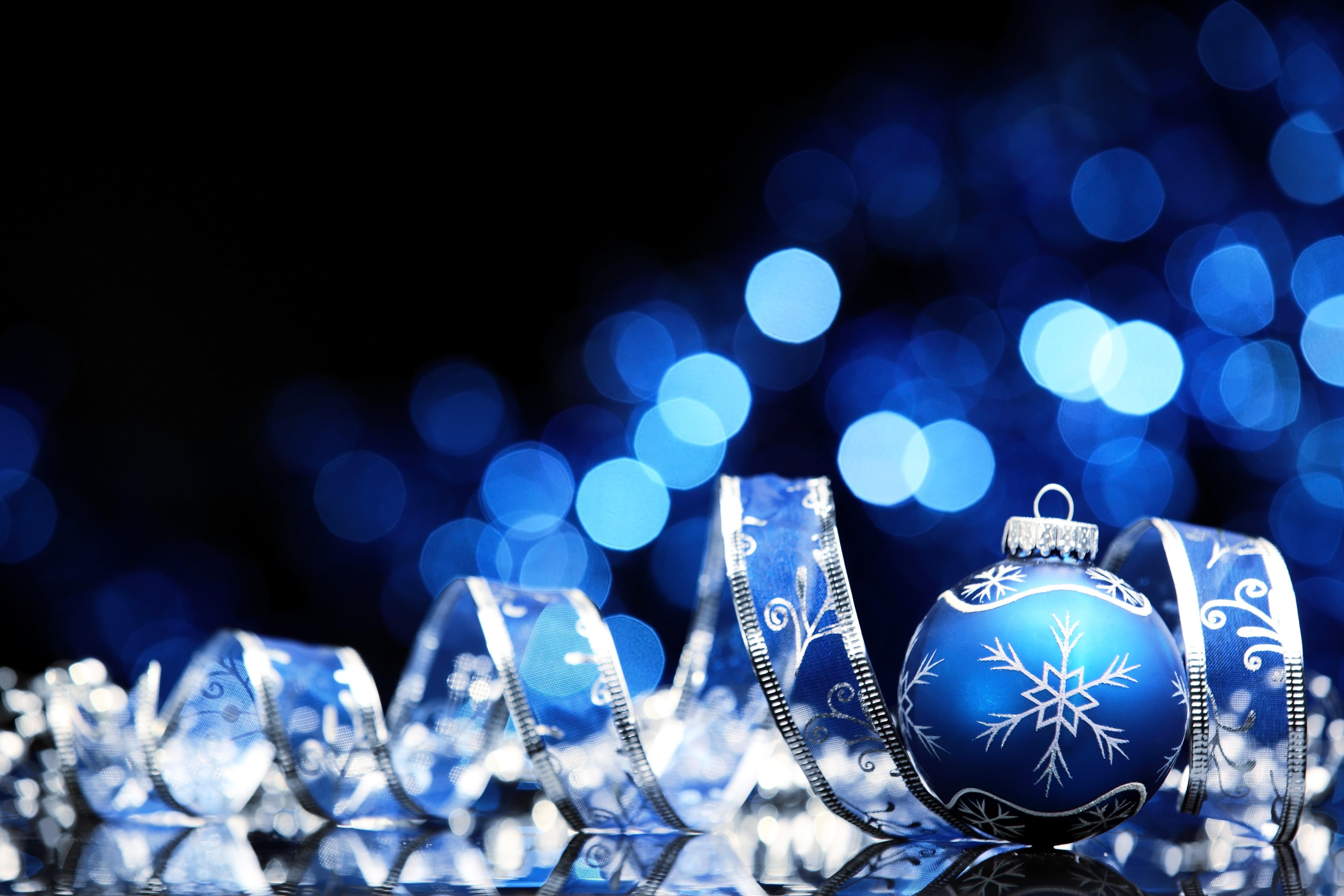 Wallpaper : night blue christmas ornaments christmas lights