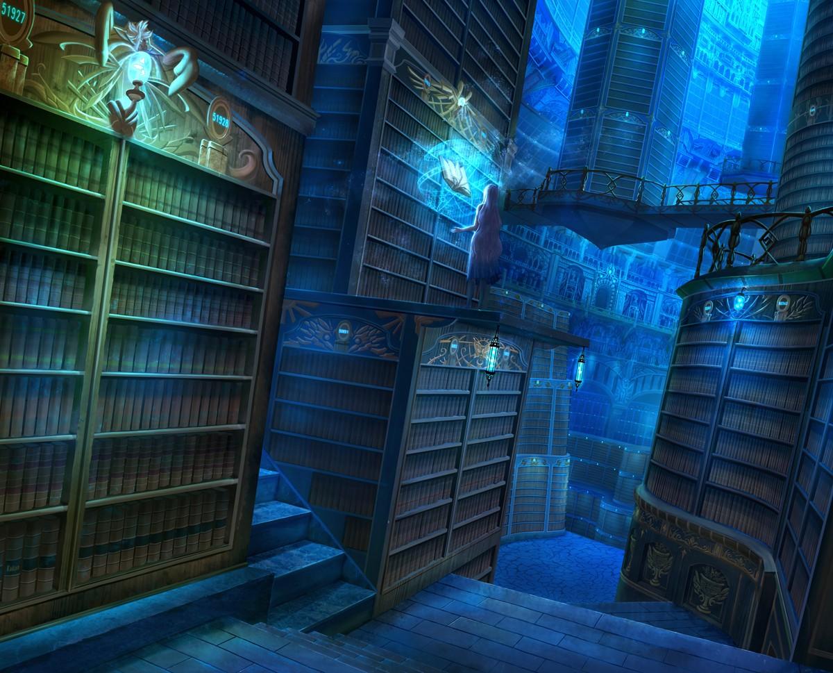 посёлок картинки волшебных библиотек это время